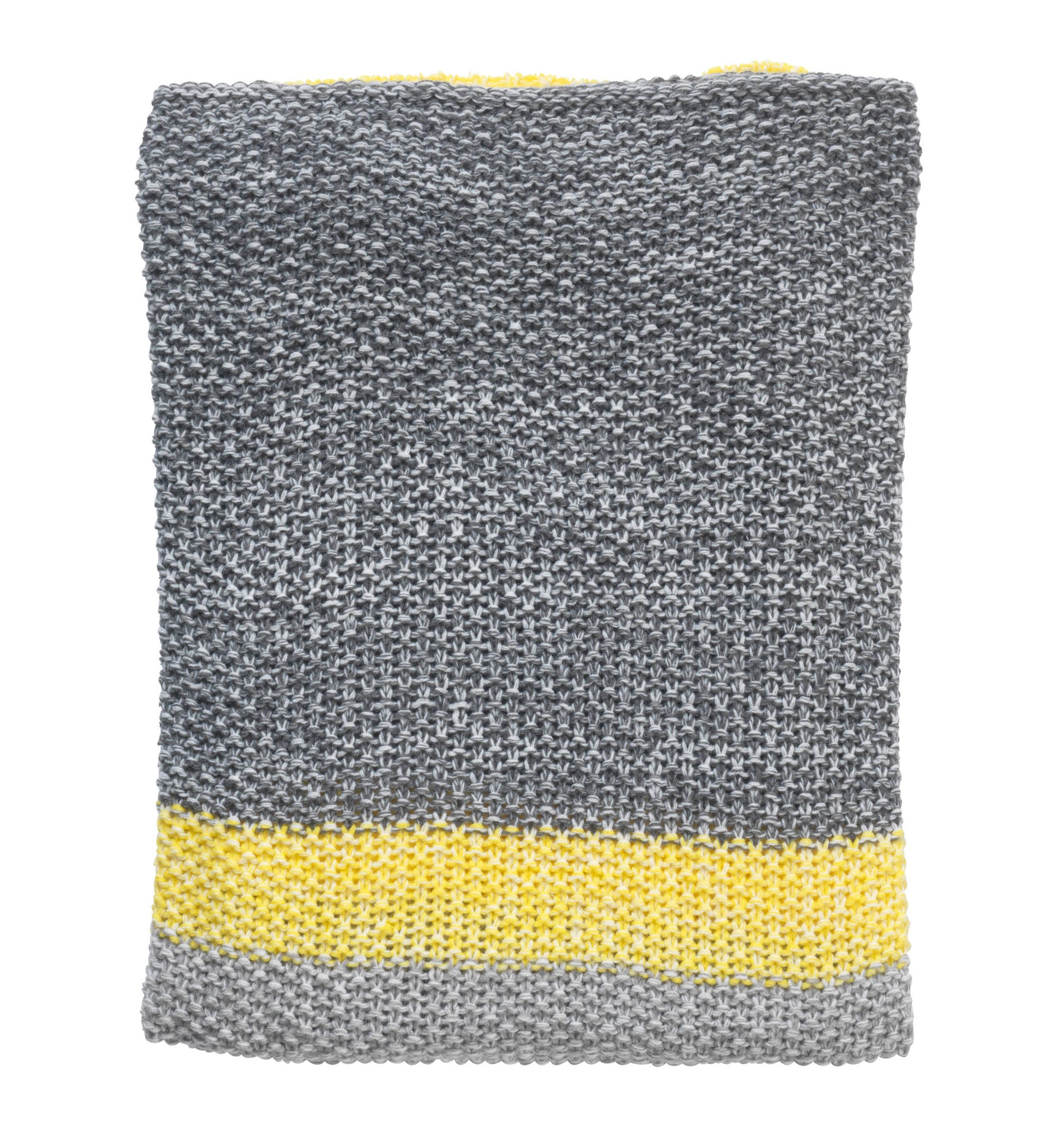 FRANCIS - Plaid grijs 130x180 cm