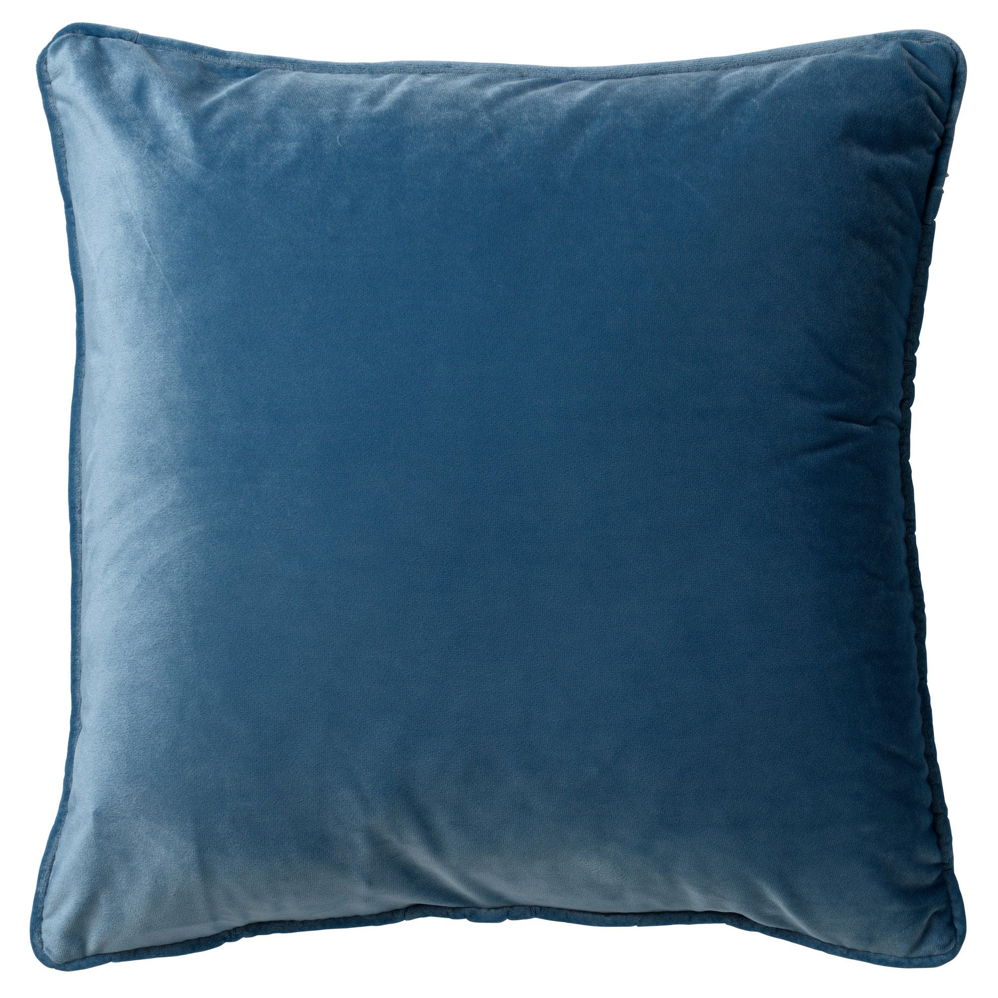FINN - Sierkussen velvet Provincial Blue 45x45 cm