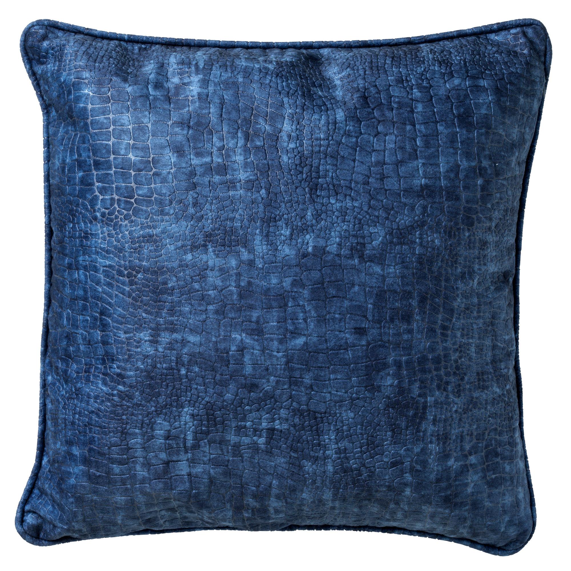 SAMMY - Sierkussen met patroon Insiginia Blue 45x45 cm