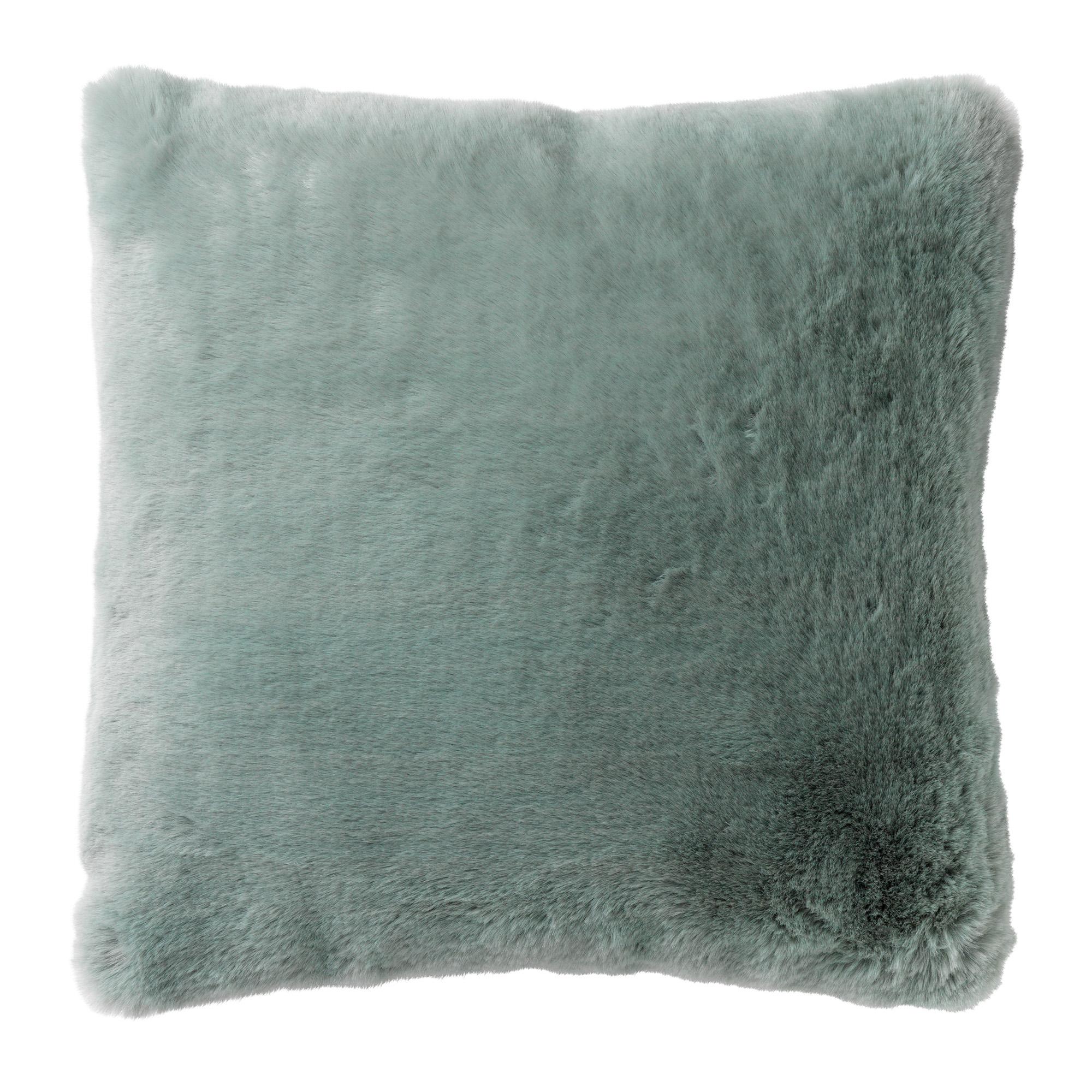 ZAYA - Sierkussen unikleur Jadeite 45x45 cm