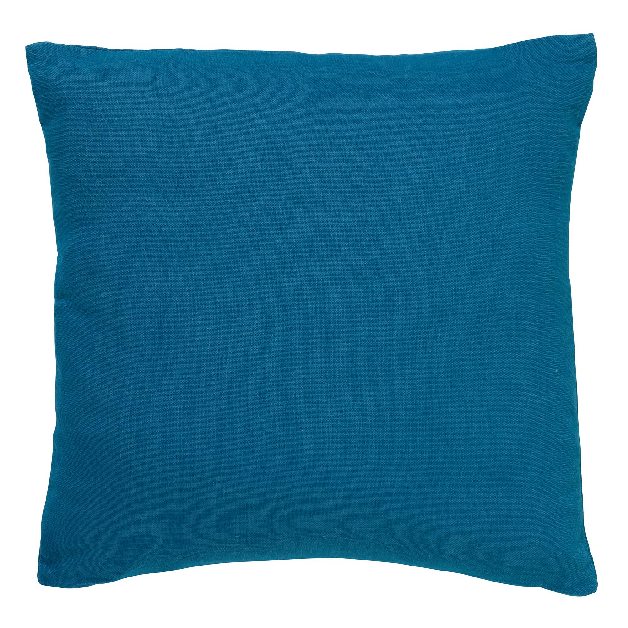 JAMES - Sierkussen van katoen Provincial Blue 45x45 cm