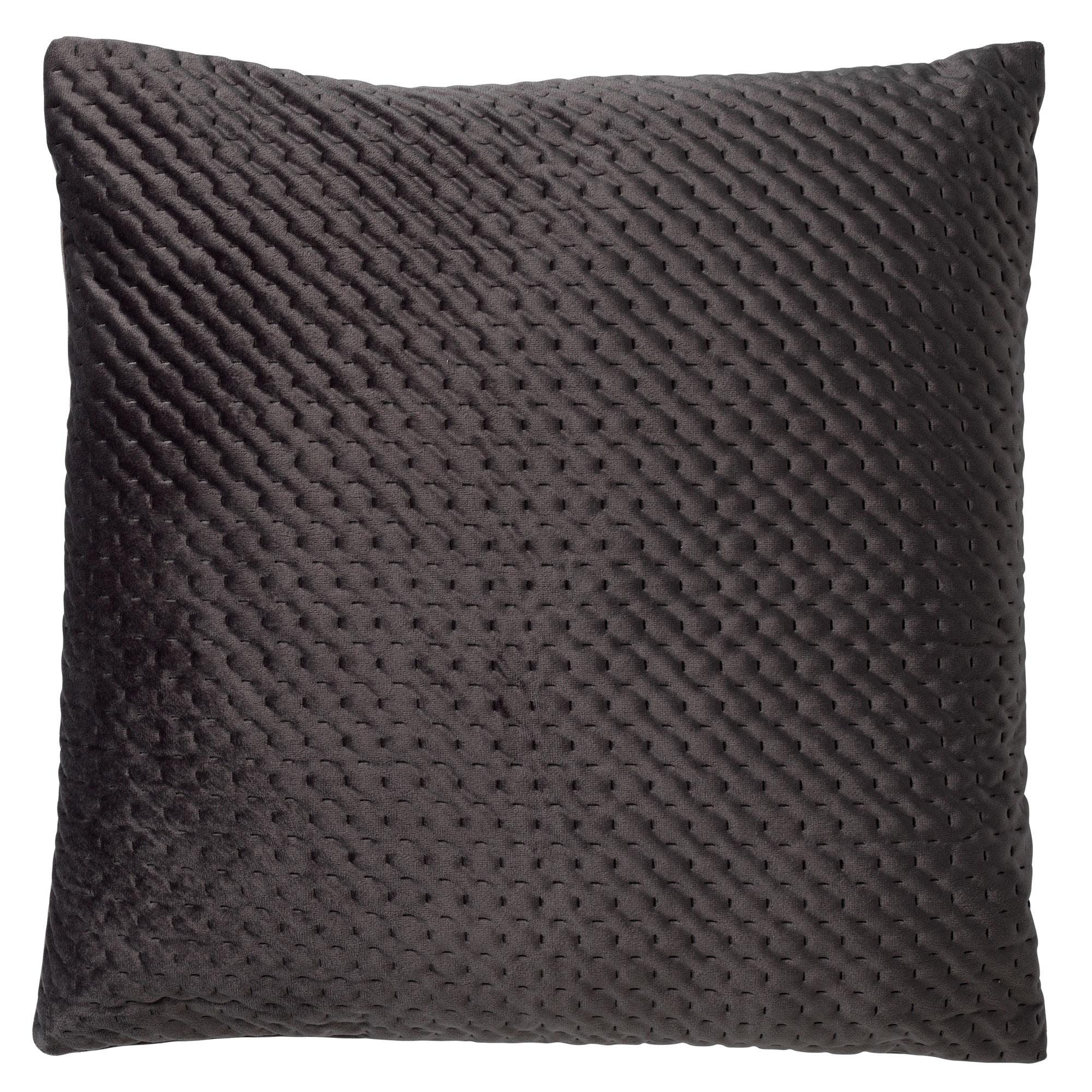 DUKO - Sierkussen velvet Charcoal Grey 45x45 cm