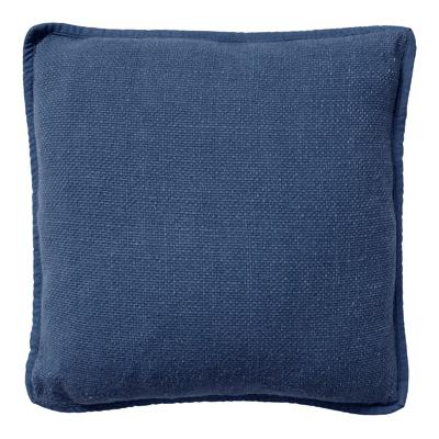 BOWIE - Sierkussen van katoen 45x45 cm Insignia Blue