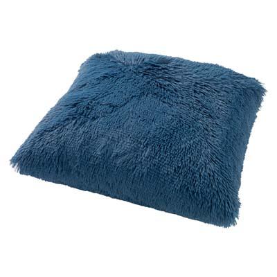 FLUFFY - Sierkussen unikleur Provincial Blue 45x45 cm