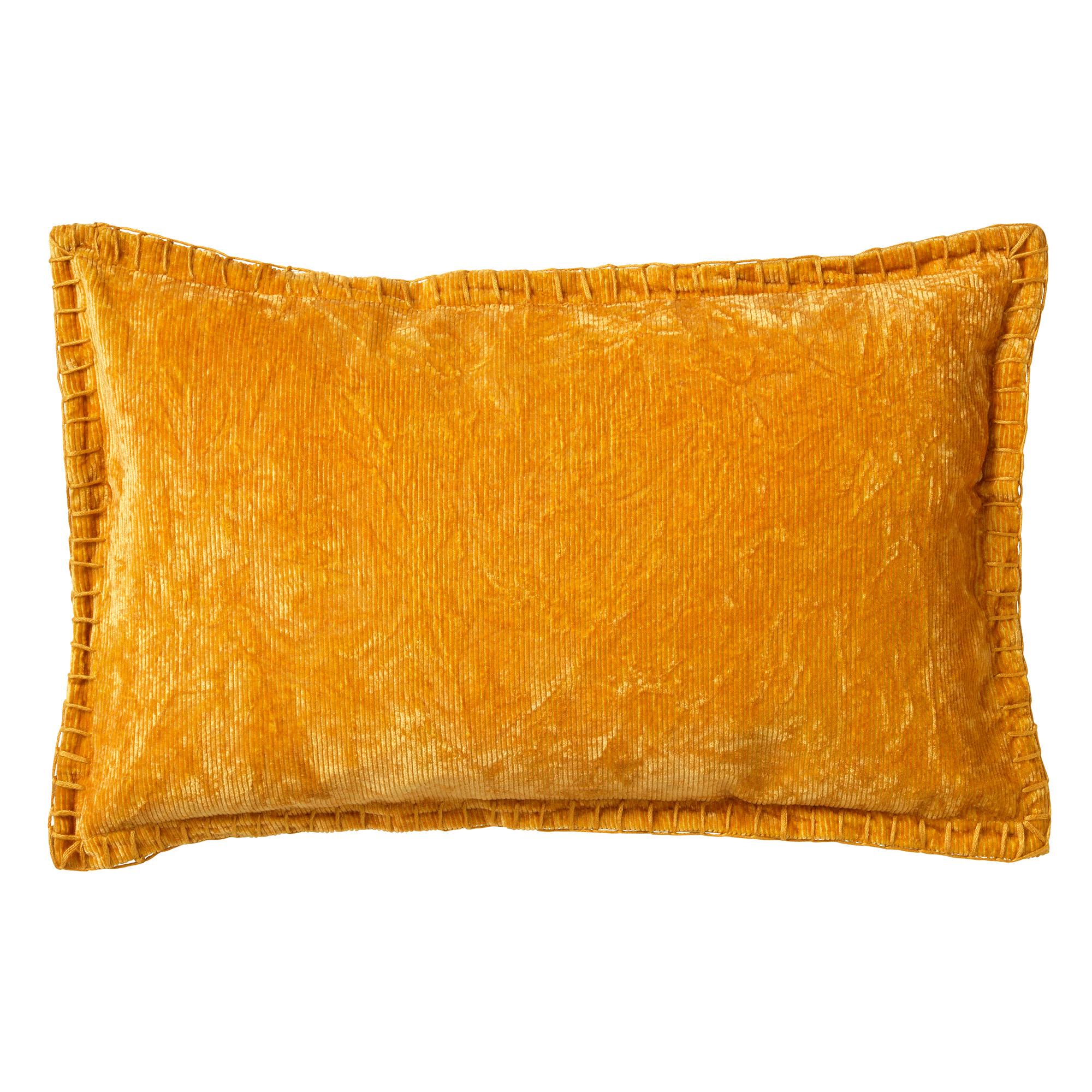 REBEL - Sierkussen velvet 30x50 cm Golden Glow