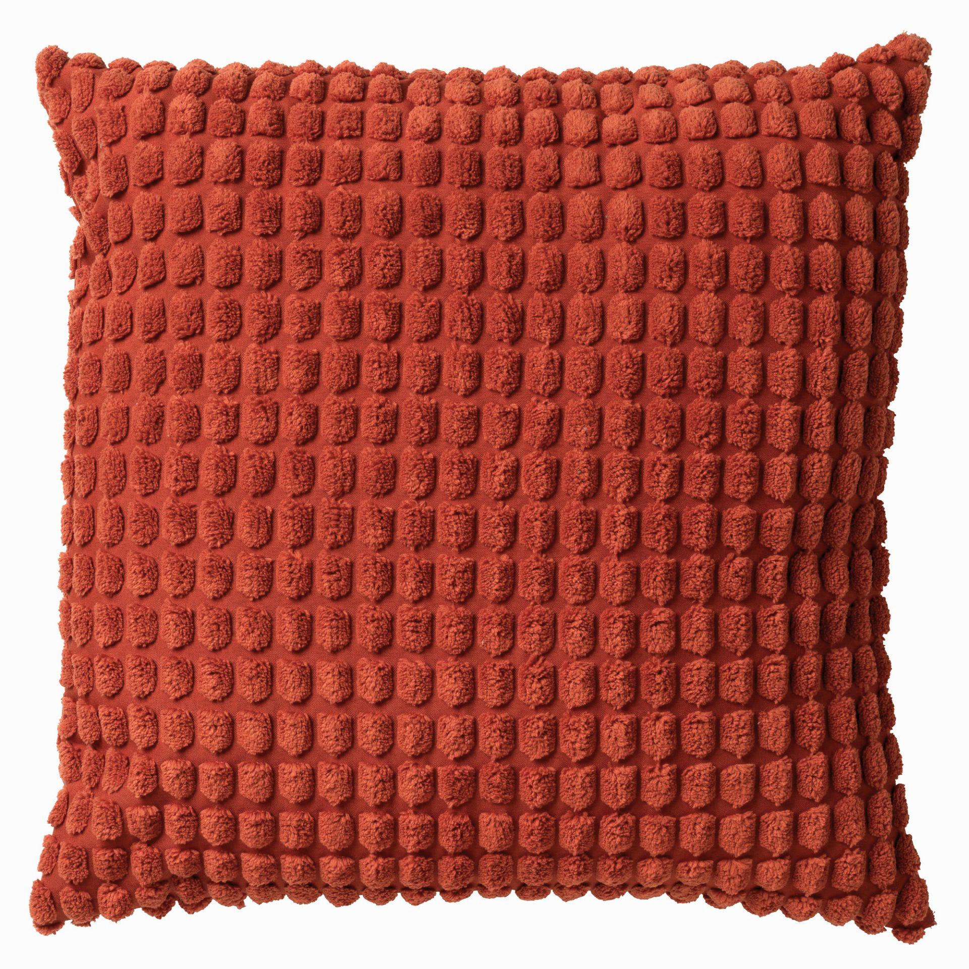 ROME - Sierkussen uni Potters Clay 45x45 cm