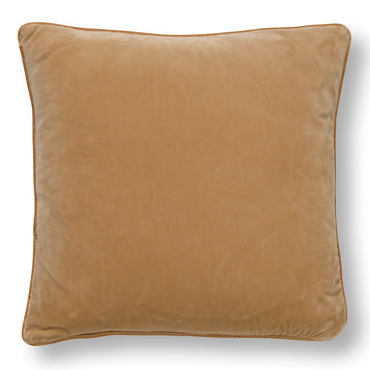 PALMER - Sierkussen velvet Pumice Stone 45x45 cm
