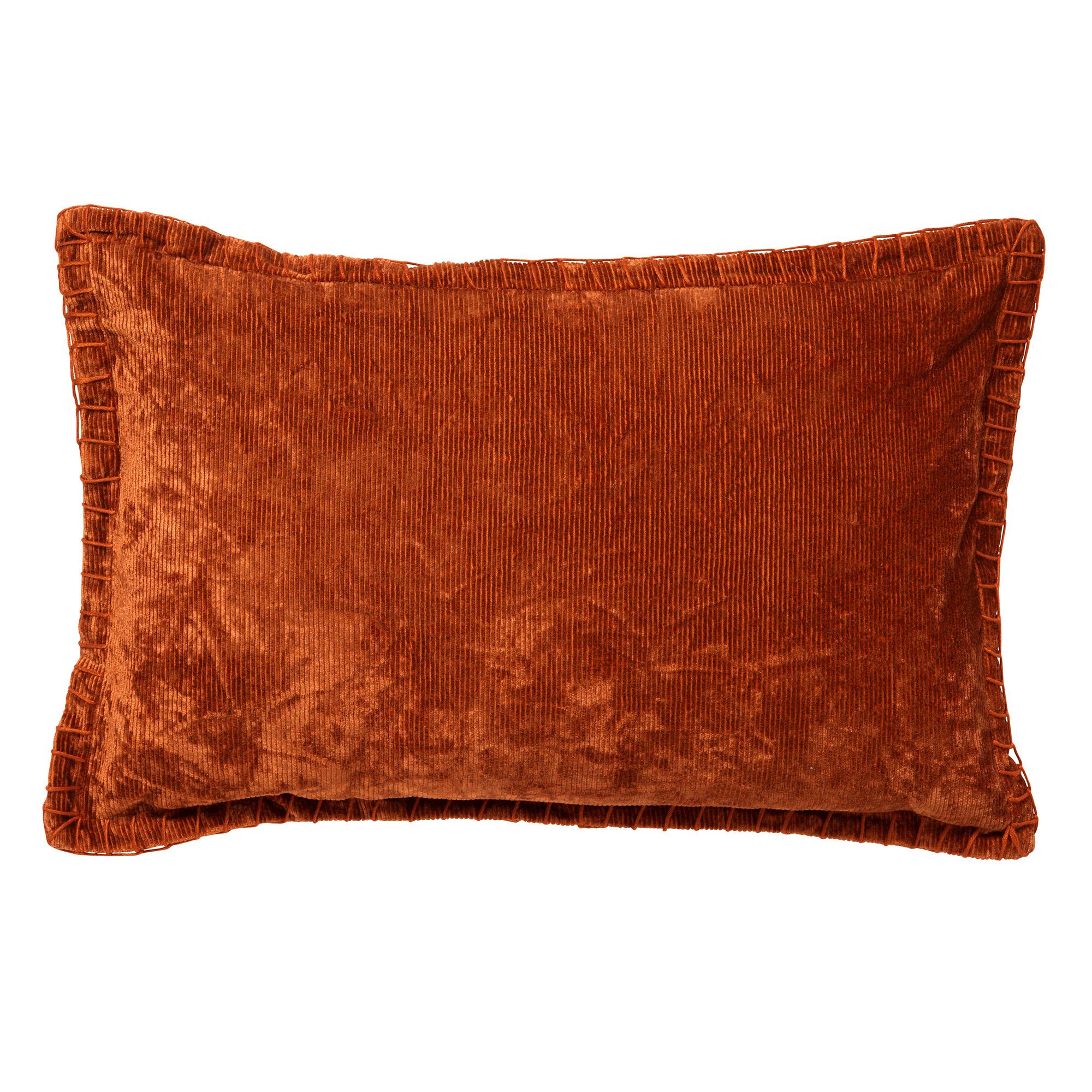 REBEL - Kussenhoes velvet 30x50 cm Potters Clay