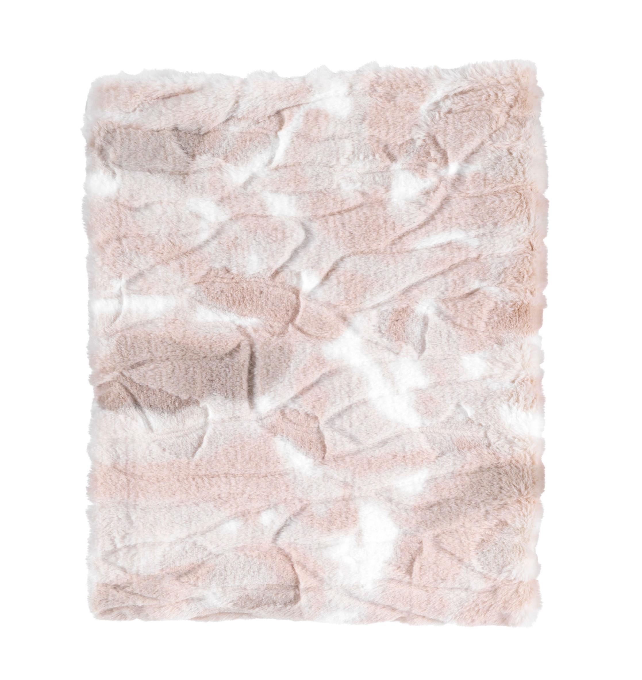 ROEL - Plaid zand multi 130x170 cm