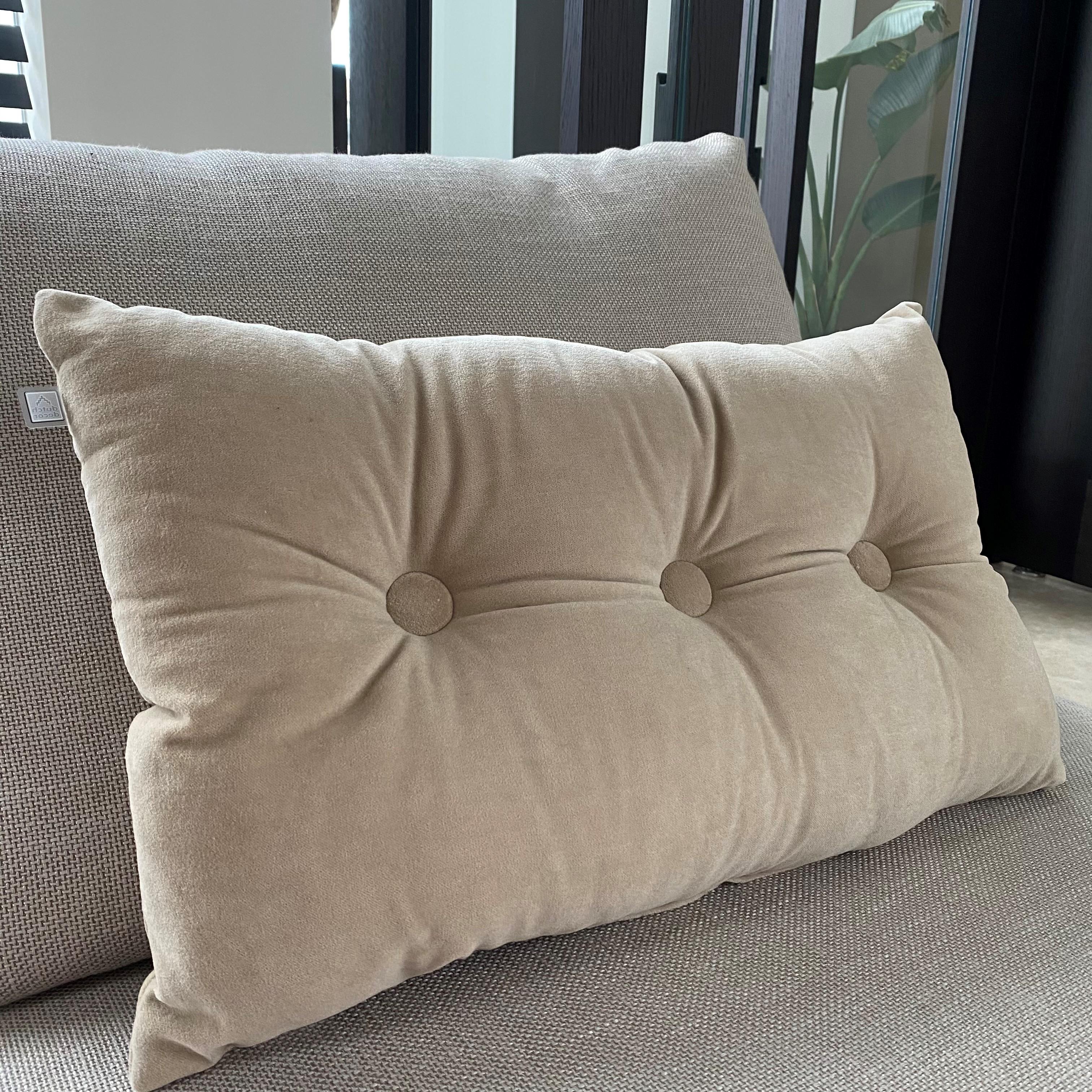 VALERIE - Sierkussen velvet Pumice Stone 40x60 cm