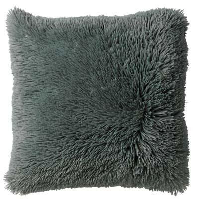 FLUFFY - Sierkussen unikleur Jadeite 45x45 cm