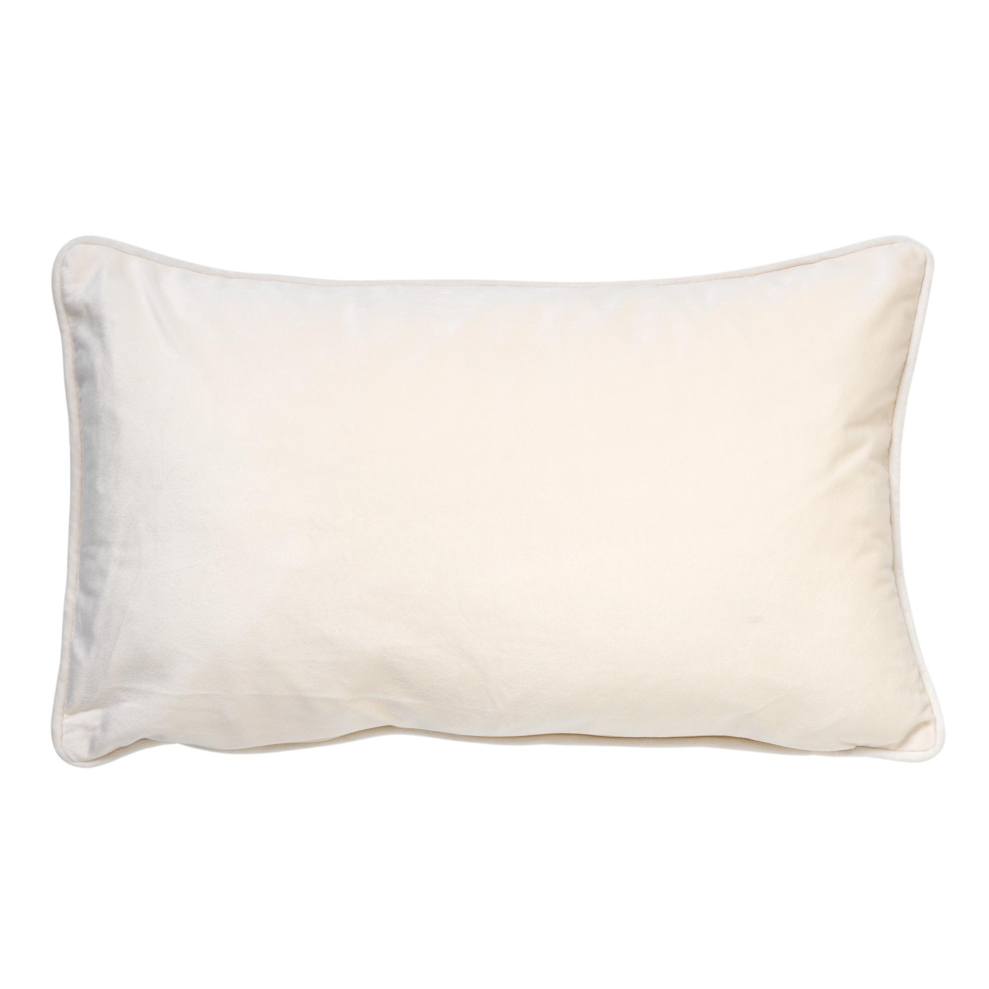 FINN - Sierkussen velvet Snow White 30x50 cm