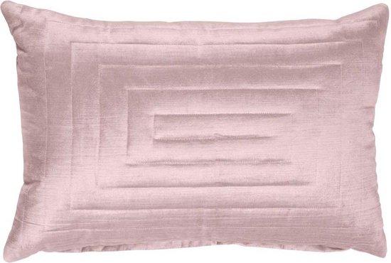 SQUARE PATTERNS - Sierkussen Walra 40x60 cm roze
