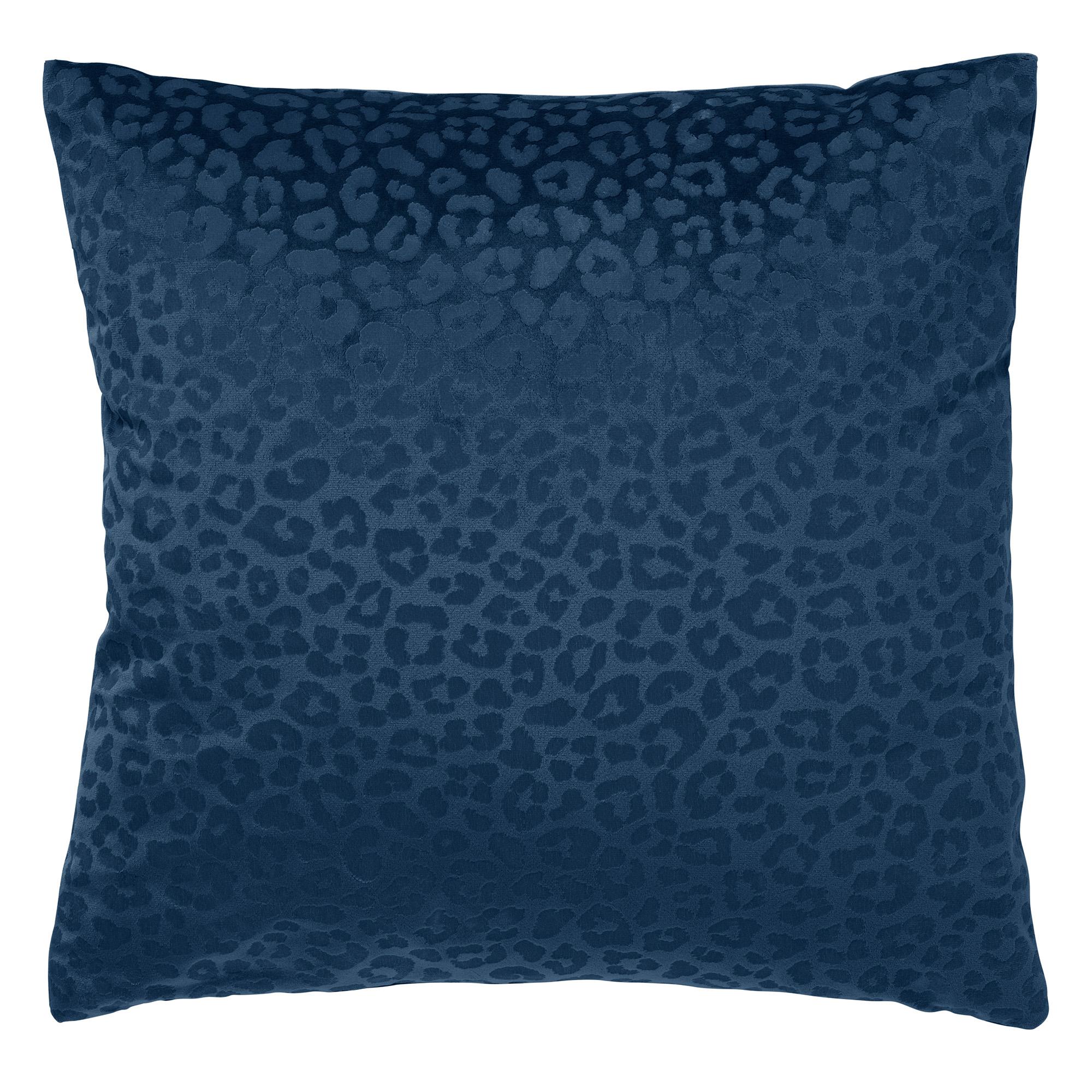CHESSY - Kussenhoes met dierenprint 45x45 cm Insignia Blue