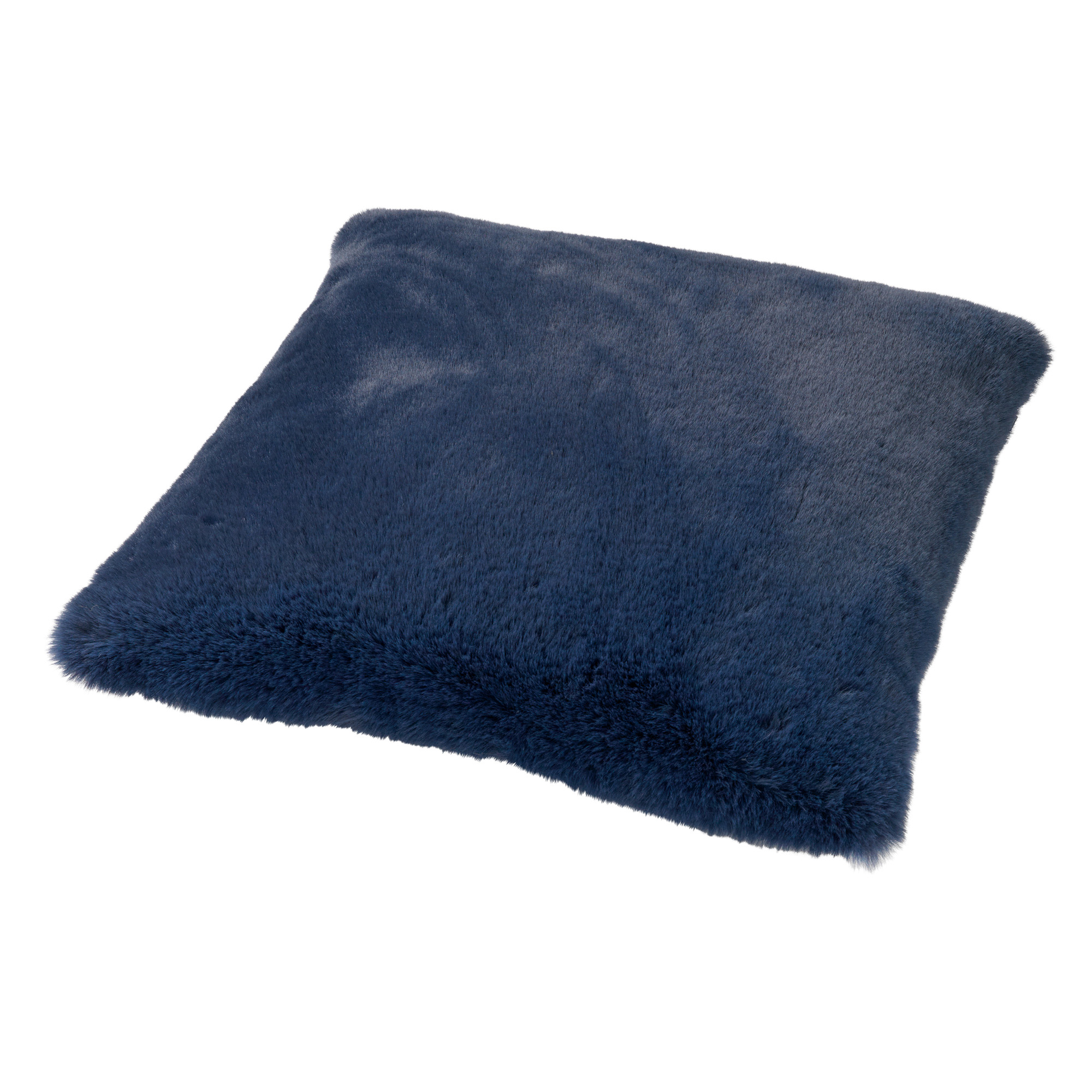 ZAYA - Sierkussen unikleur Insignia Blue 45x45 cm