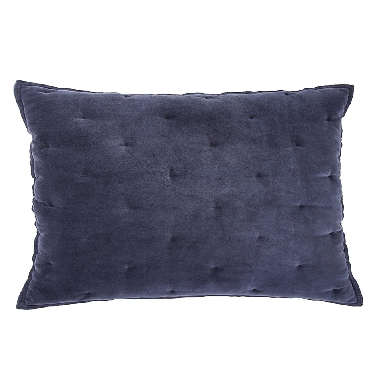VELVET TOUCH -  Sierkussen Walra Velvet Touch 40x60 cm  Blauw