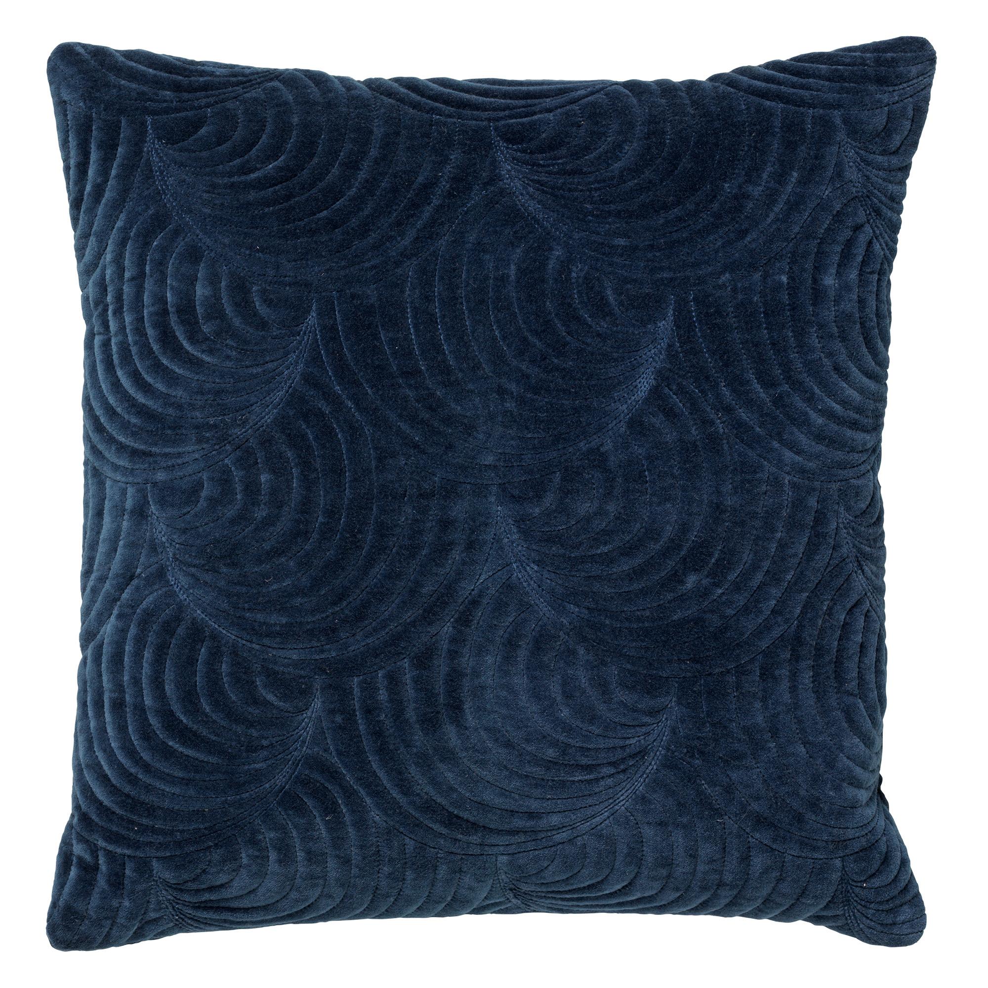 MOON - Kussenhoes van katoen 45x45 cm Insignia Blue
