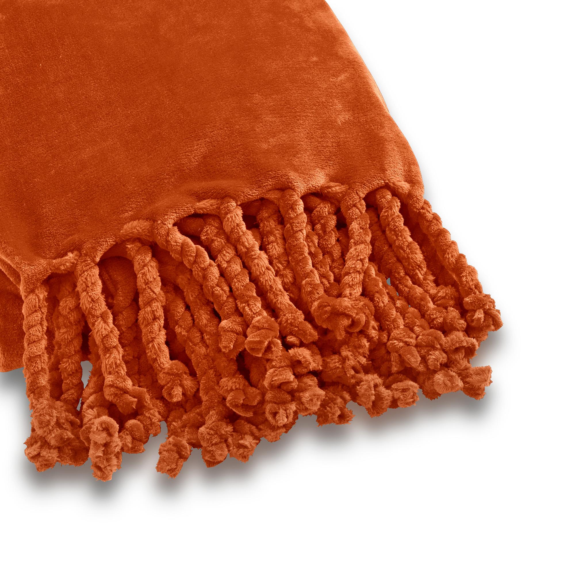 FLORIJN - Plaid van fleece 150x200 cm Potters Clay