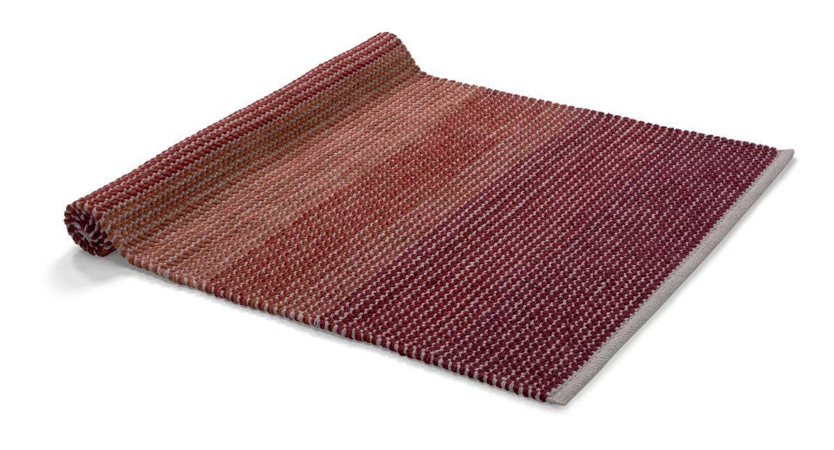 MORRIS - Vloermat bordeaux multi 75x120 cm