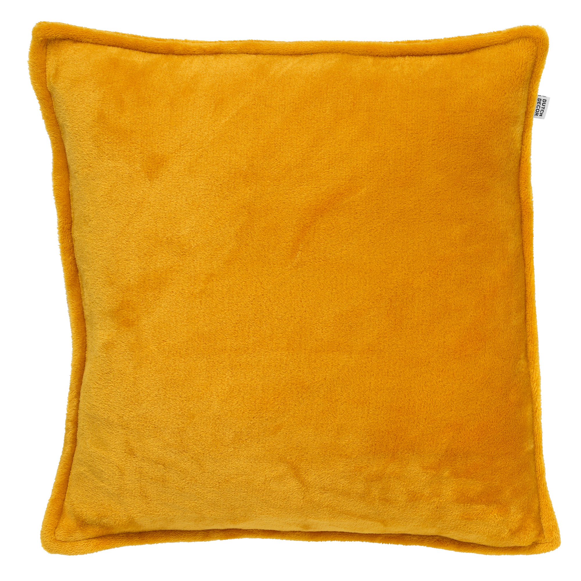 CILLY - Sierkussen van fleece Golden Glow 45x45 cm