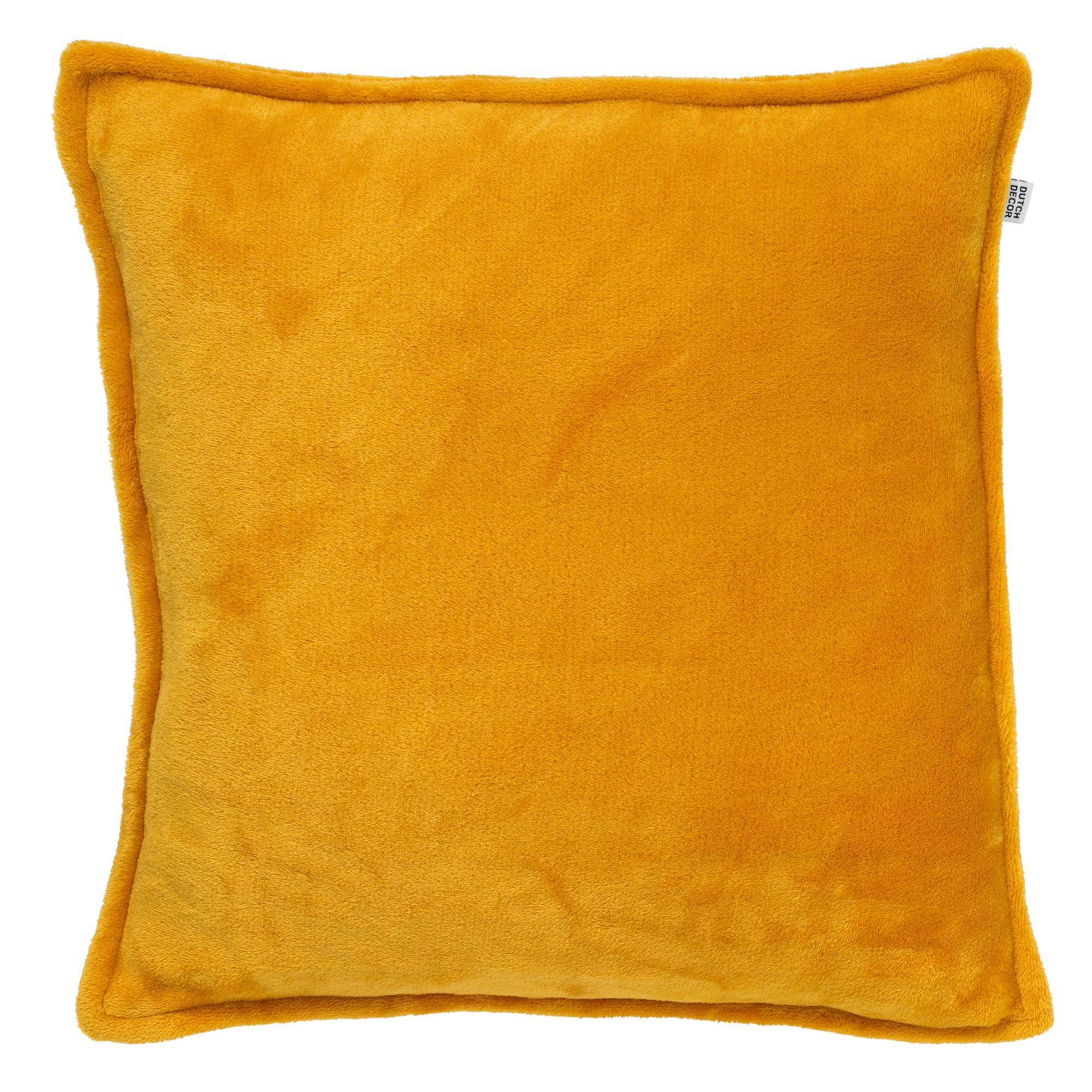 CILLY - Sierkussen van fleece Golden Glow 45x45 cm