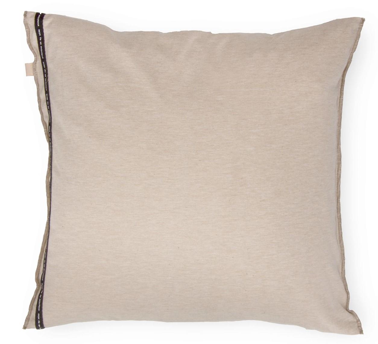 SOFT JERSEY - Sierkussen Walra Soft Jersey 45x45 cm Sand/Taupe