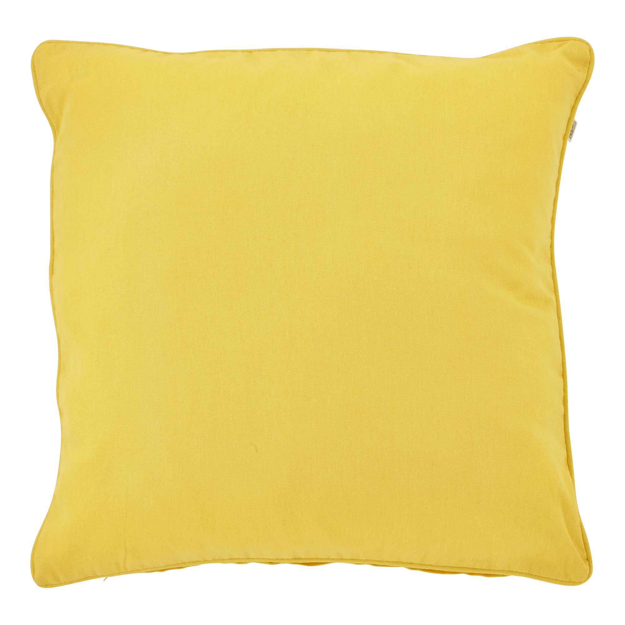 JAVA - Sierkussen geel 70x70 cm