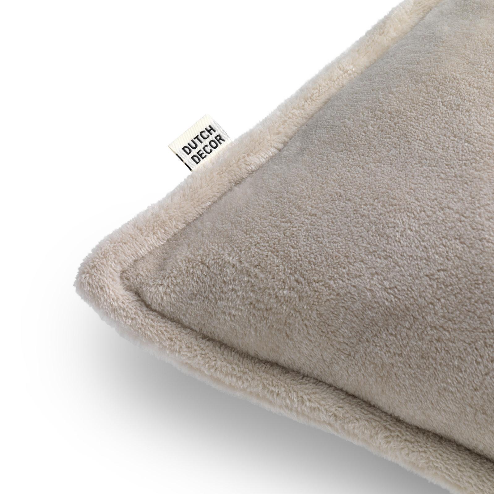 CILLY - Sierkussen van fleece Pumice Stone 45x45 cm