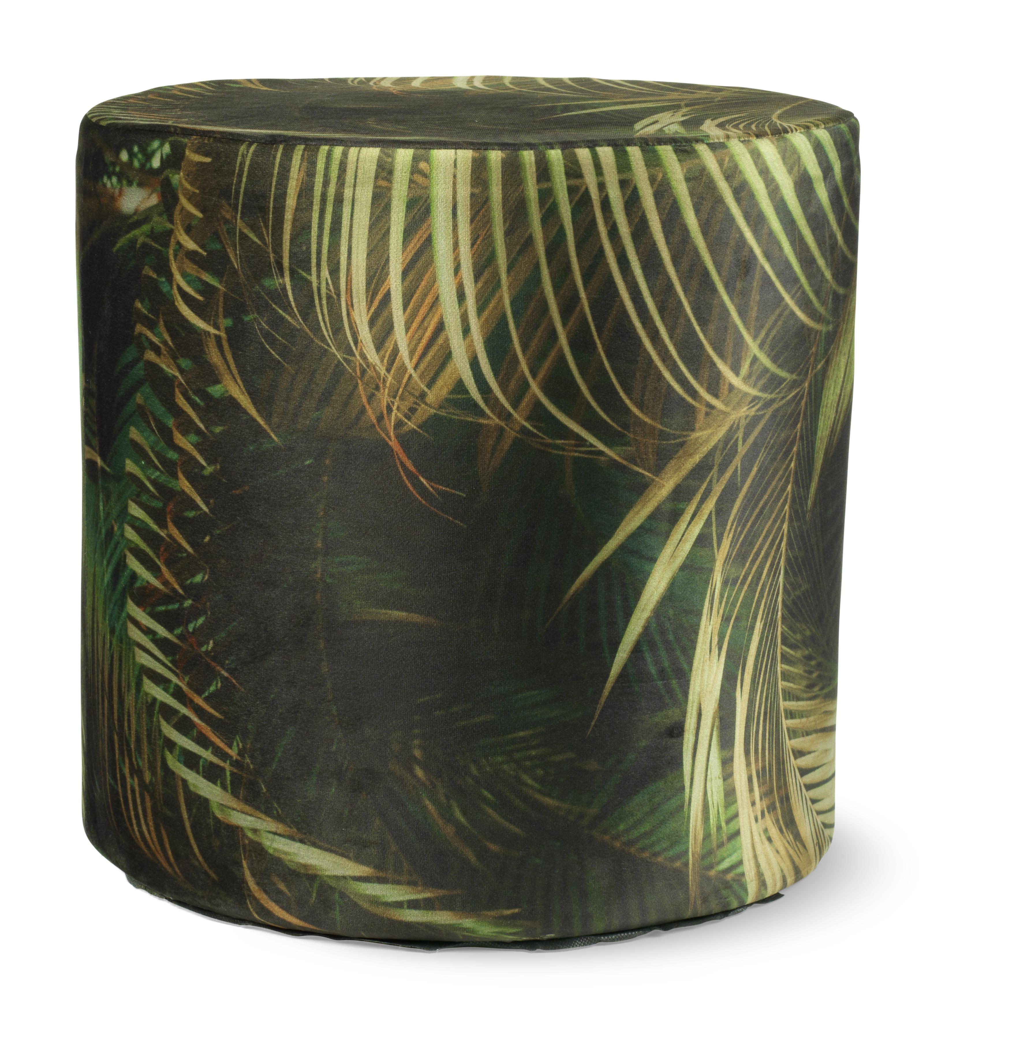 YADE - Poef groen 40x40x40 cm