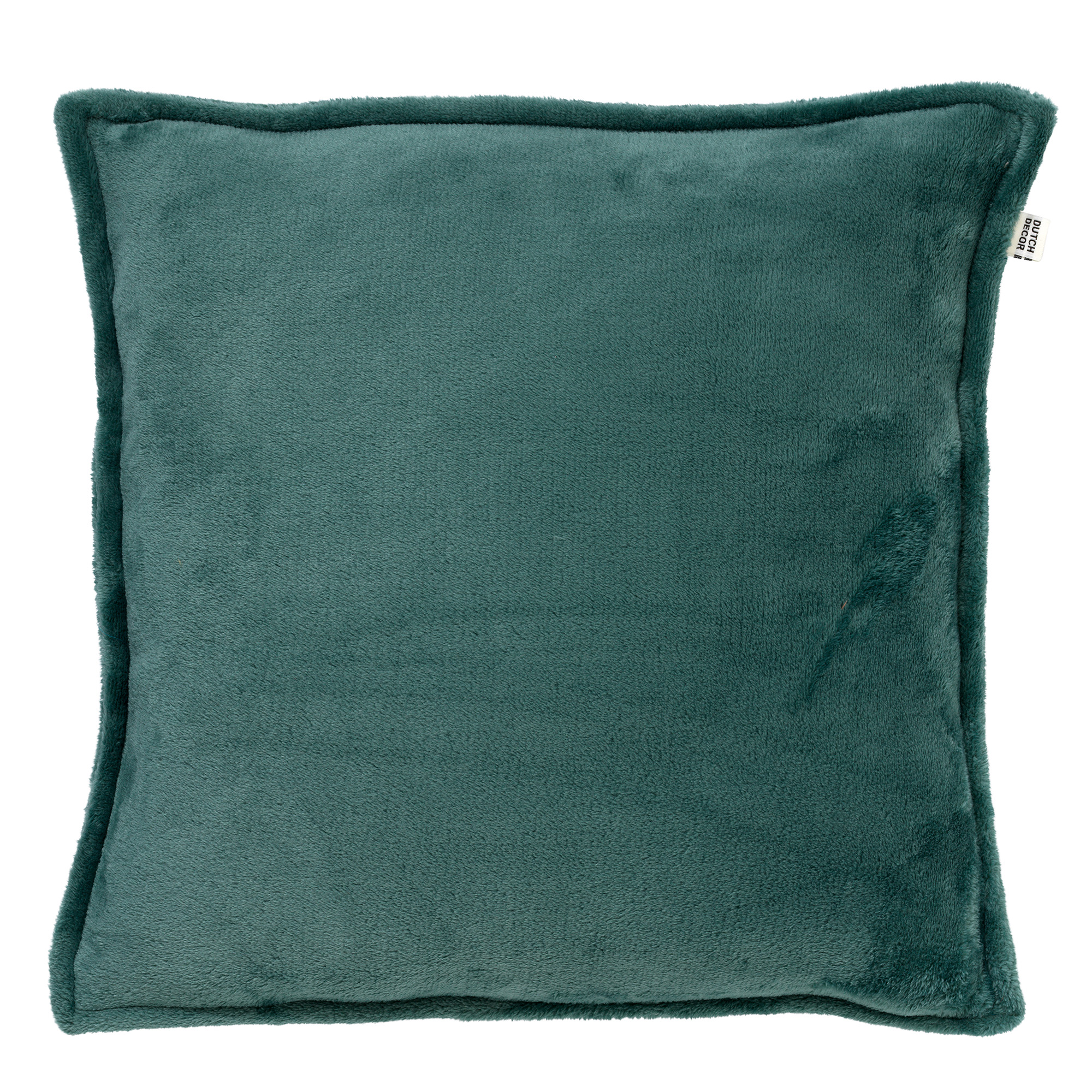 CILLY - Sierkussen van fleece Sagebrush Green 45x45 cm