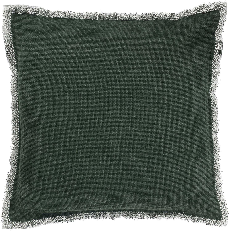 BURTO - Sierkussen van katoen groen 45x45 cm