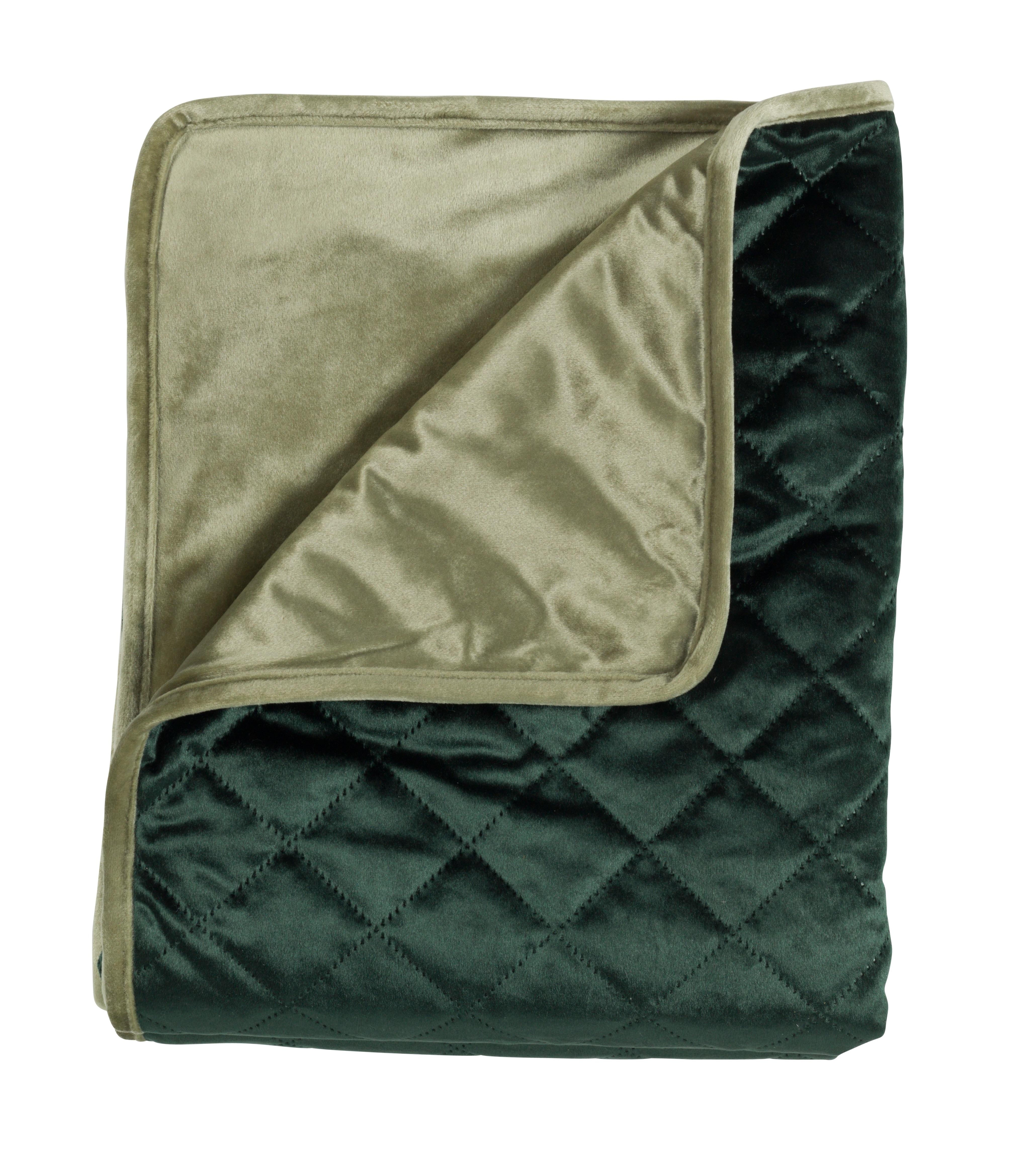 BEAU - Plaid groen 130x160 cm