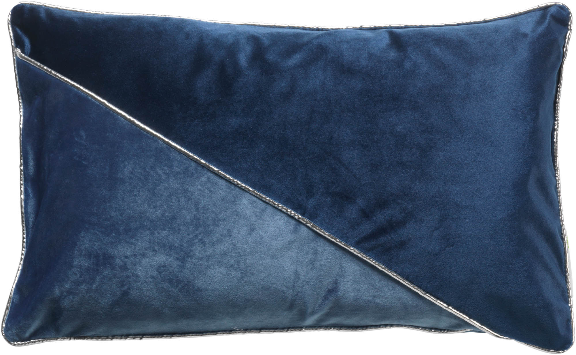 JASPER - Kussenhoes blauw 30x50 cm