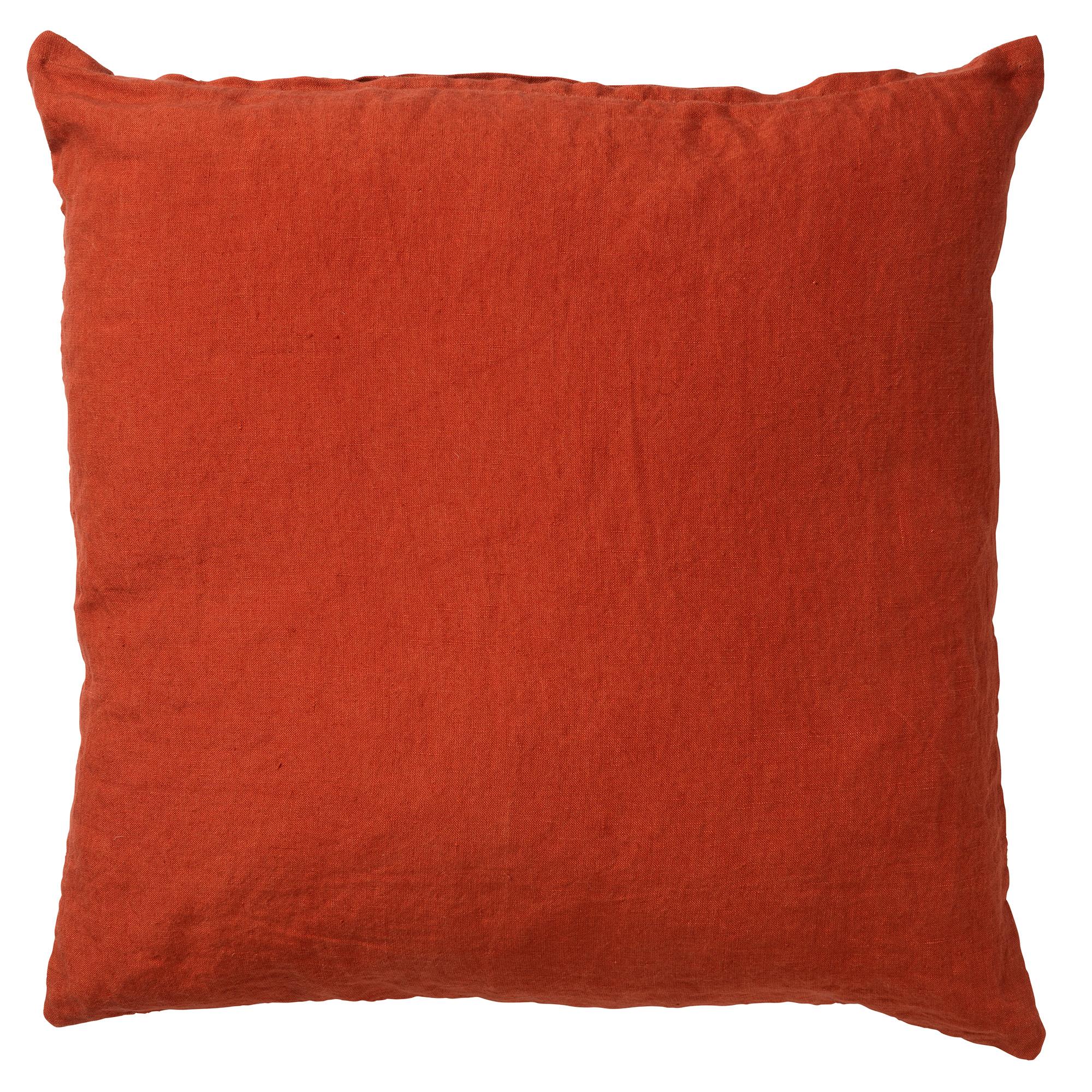 LINN - Sierkussen linnen Potters Clay 45x45 cm