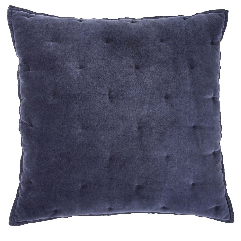 VELVET TOUCH -  Sierkussen Walra Velvet Touch 50x50 cm Blauw