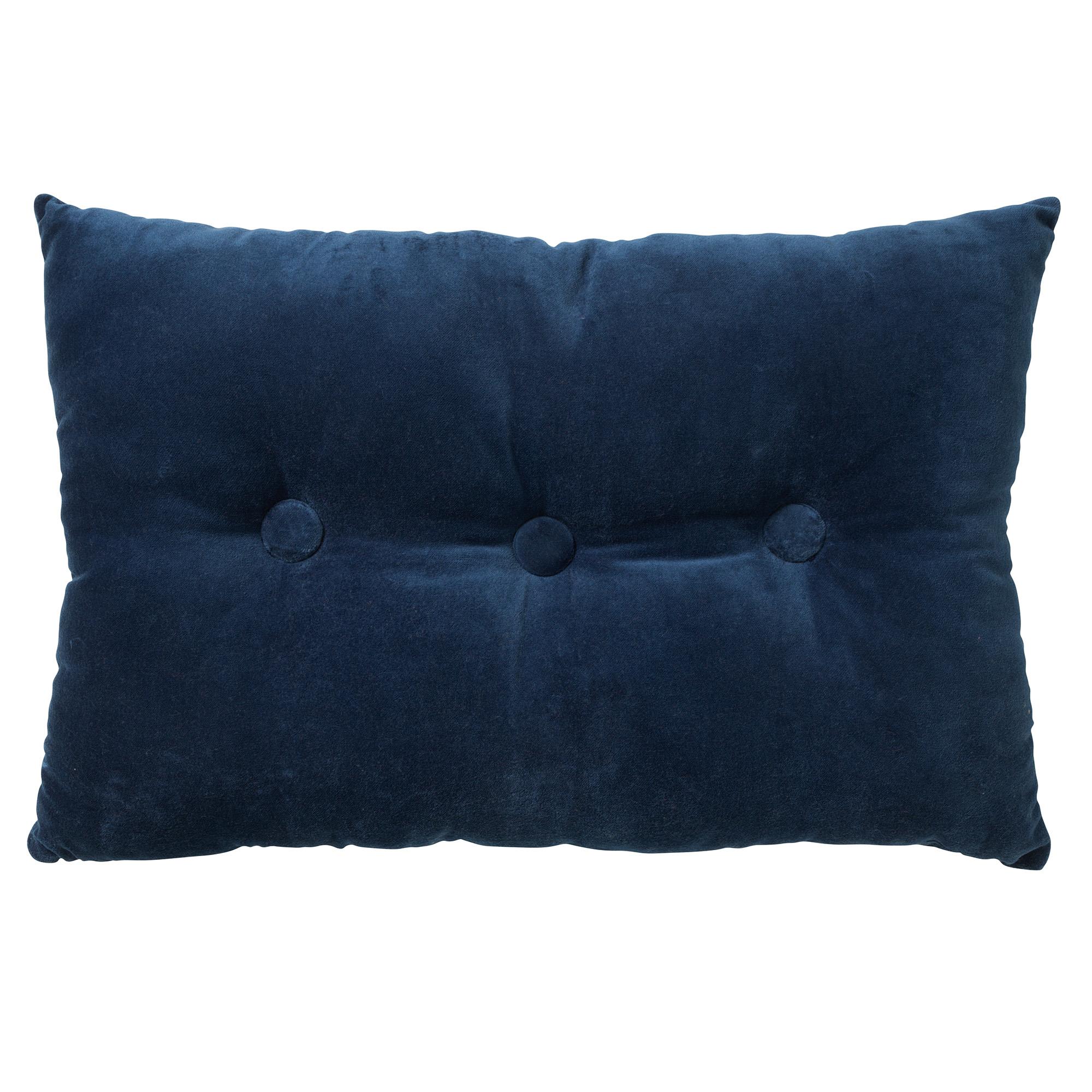 VALERIE - Sierkussen velvet Insignia Blue 40x60 cm