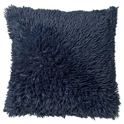 FLUFFY - Sierkussen unikleur Insignia Blue 60x60 cm