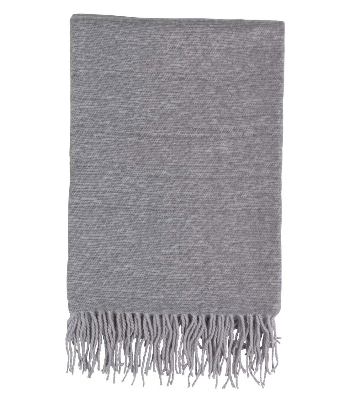 FONS - Plaid grijs 130x180 cm