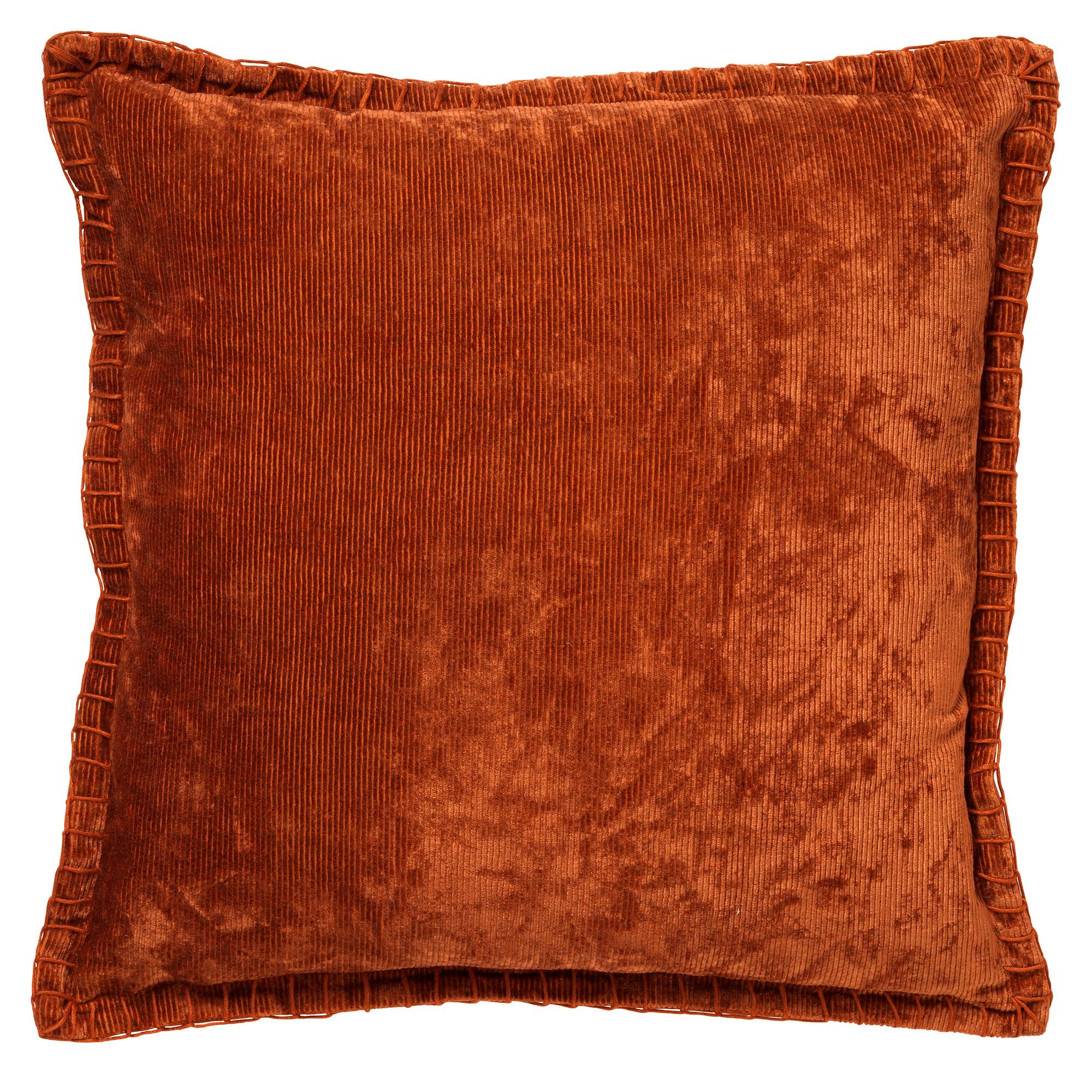 REBEL - Sierkussen velvet 45x45 cm Potters Clay