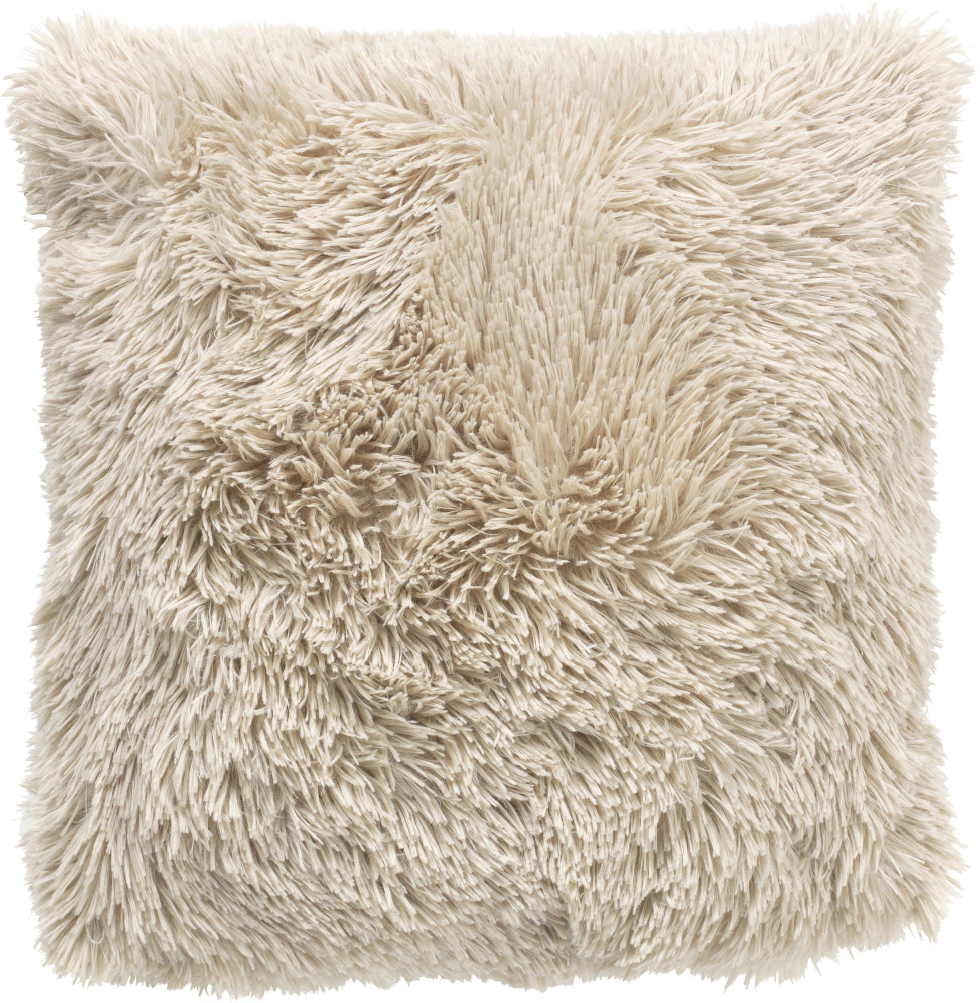 FLUFFY - Sierkussen unikleur Pumice Stone 45x45 cm