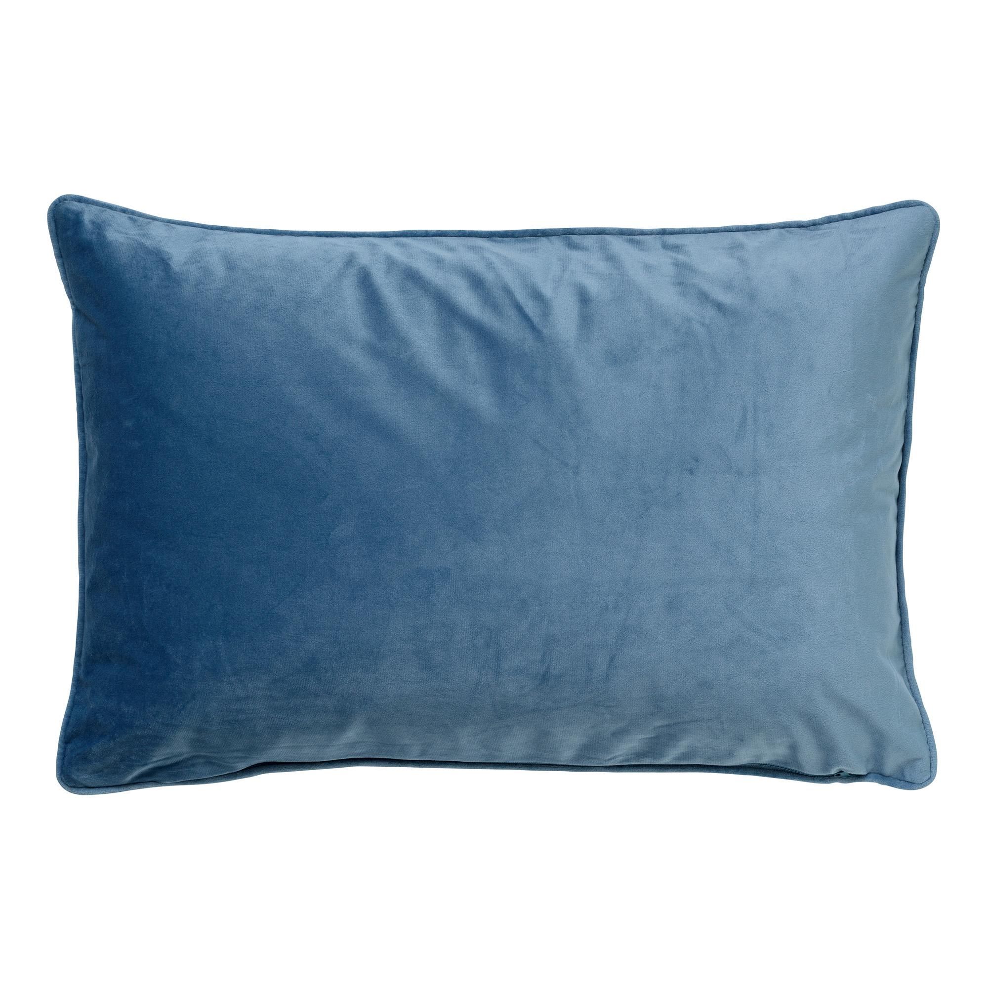 FINN - Sierkussen velvet Provincial Blue 40x60 cm