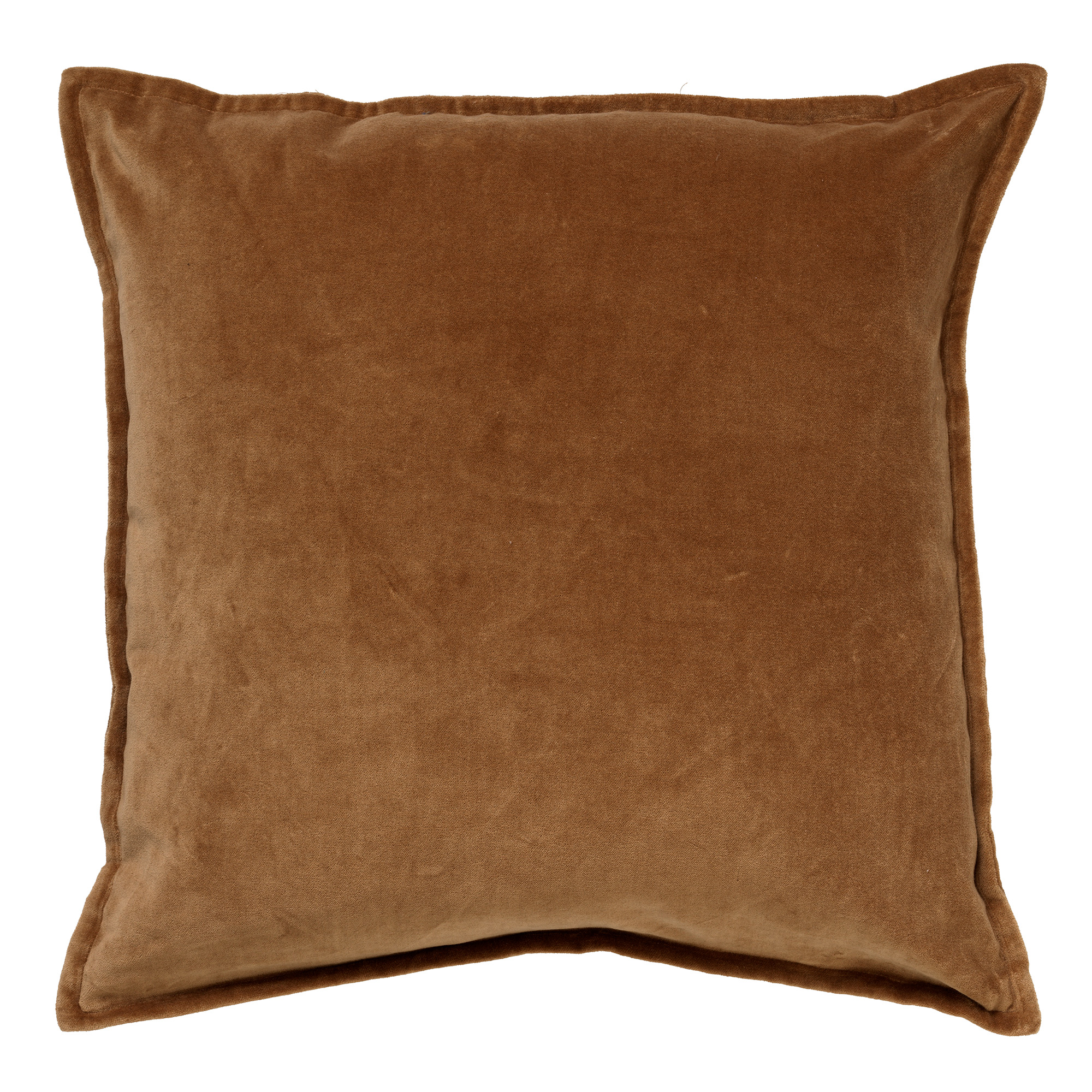 CAITH - Sierkussen velvet Tobacco Brown 50x50 cm