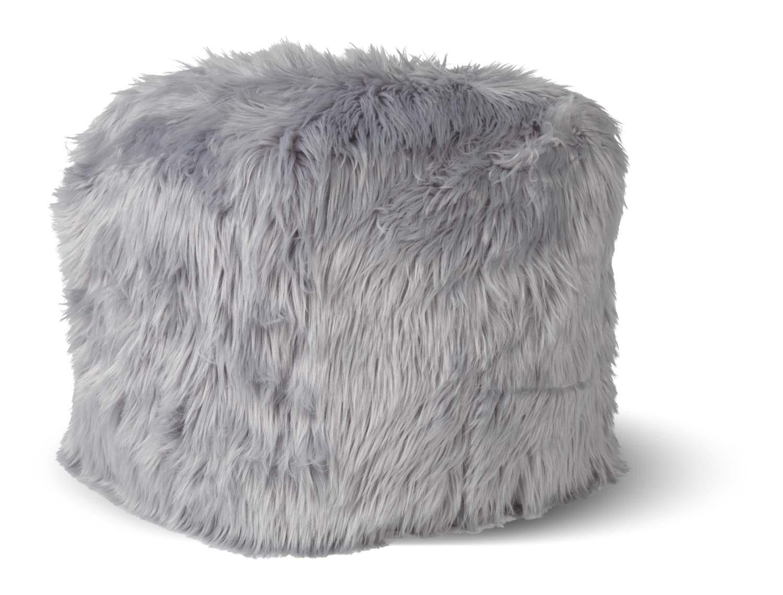 SHEEP - Poef lichtgrijs 40x40x40 cm