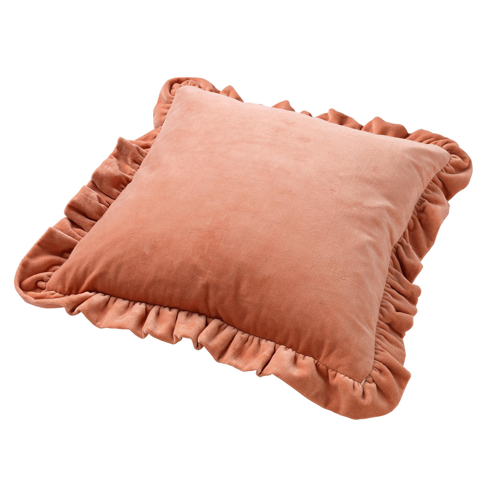 YARA - Sierkussen velvet Muted Clay 45x45 cm