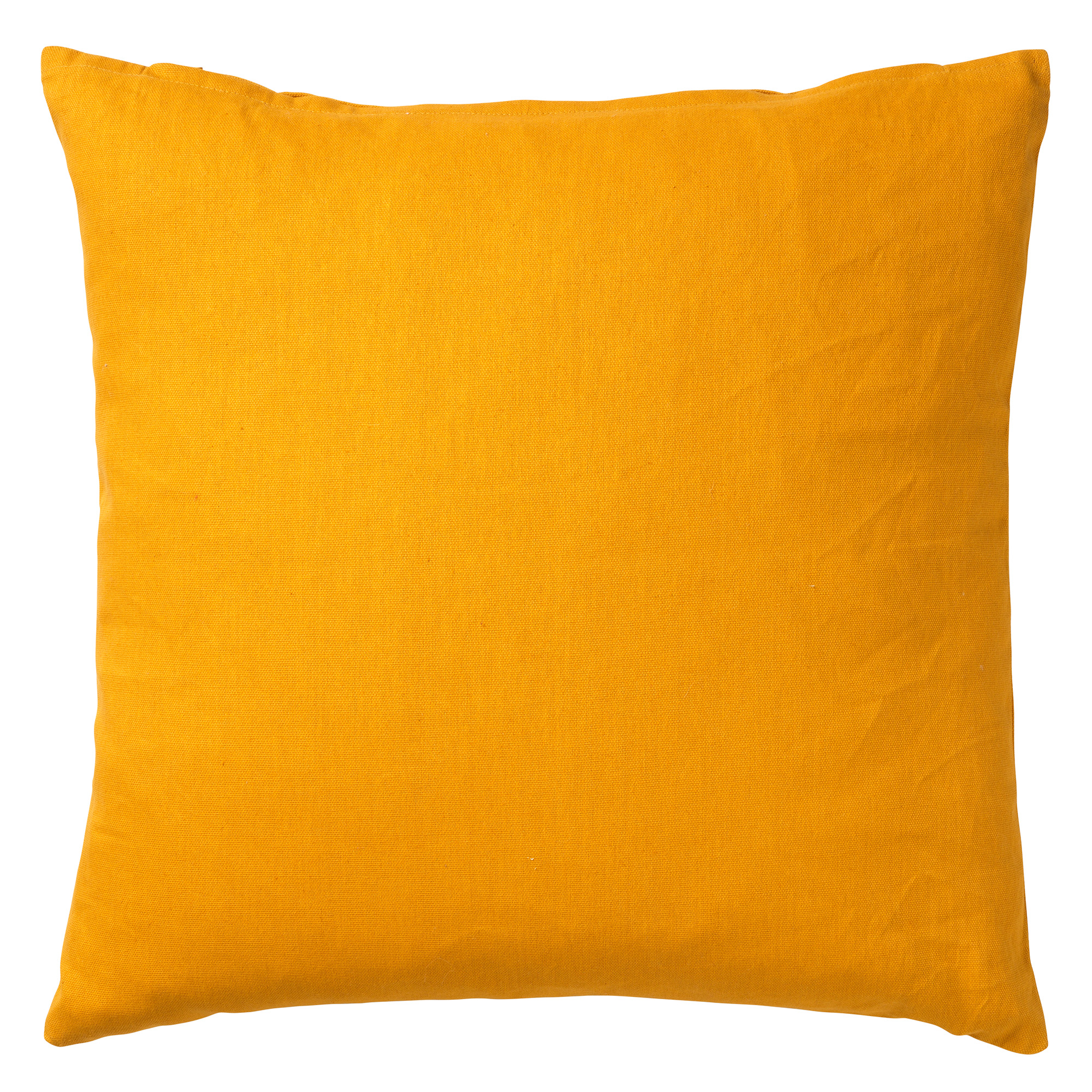 JAMES - Sierkussen van katoen Golden Glow 45x45 cm