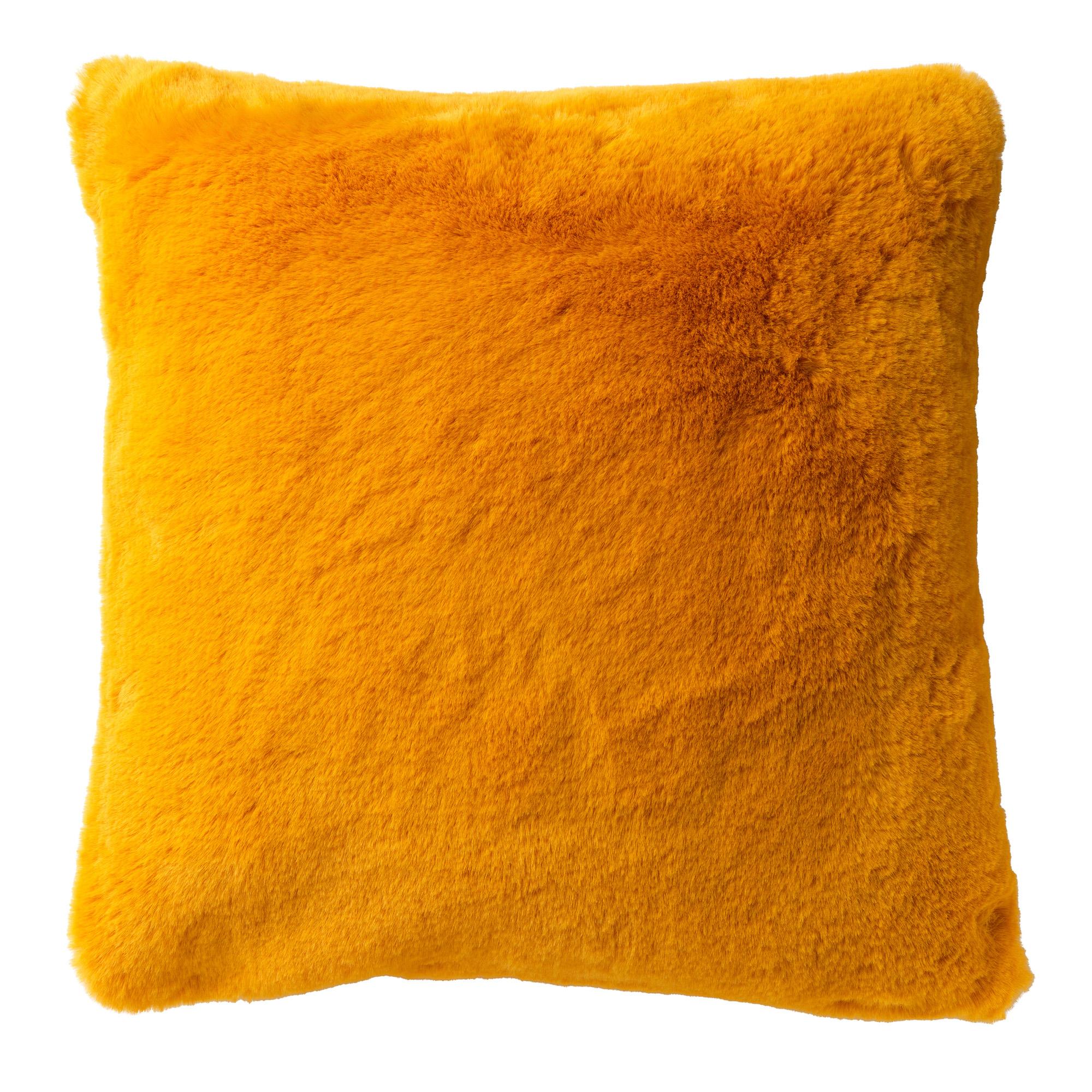ZAYA - Sierkussen unikleur Golden Glow 45x45 cm