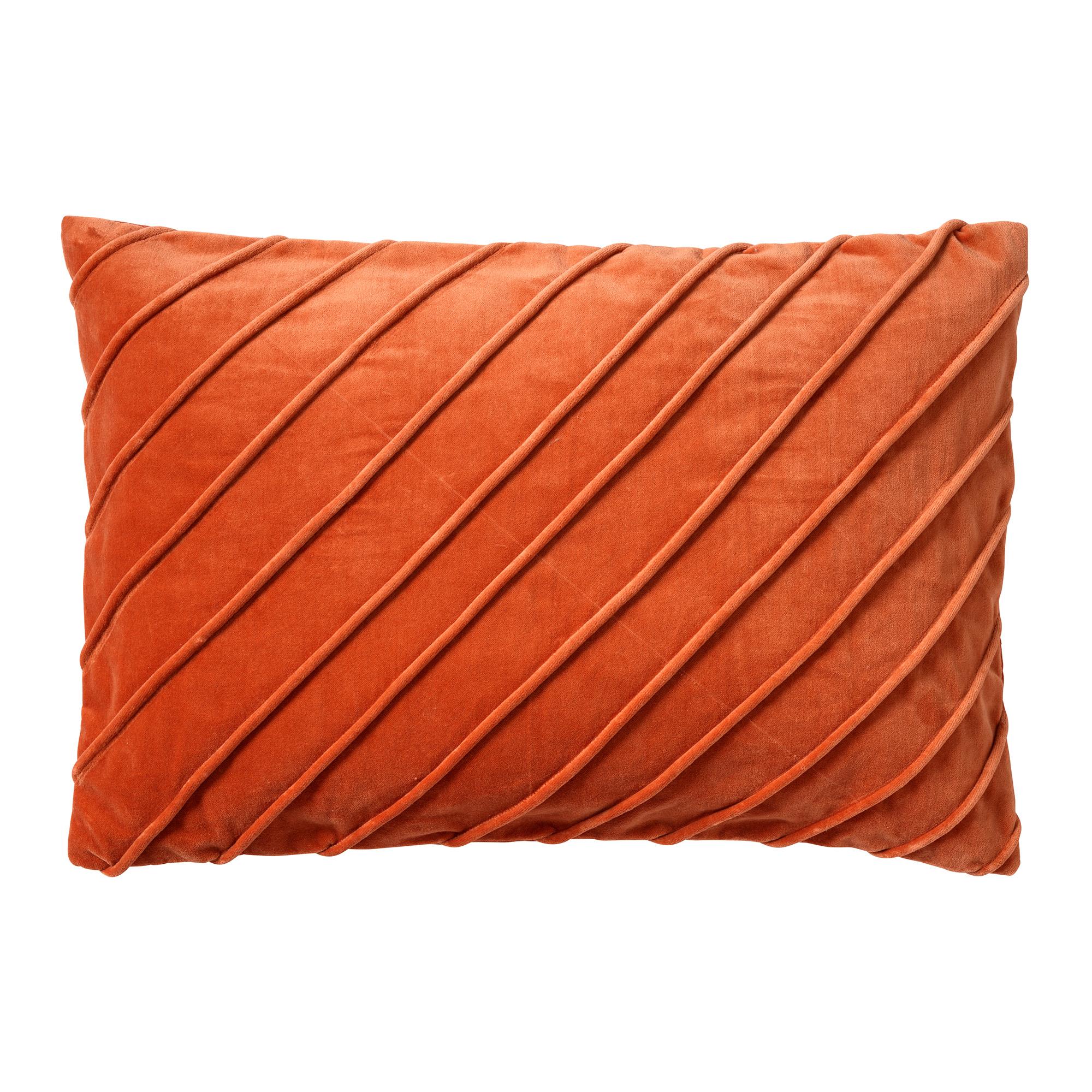 PACO - Kussenhoes velvet 40x60 cm Potters Clay