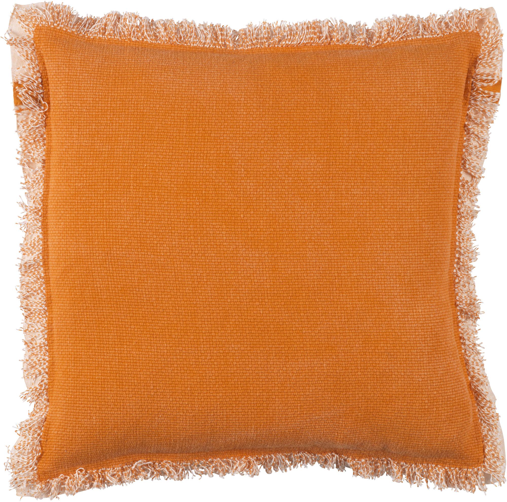 BURTO - Sierkussen van katoen oranje 45x45 cm