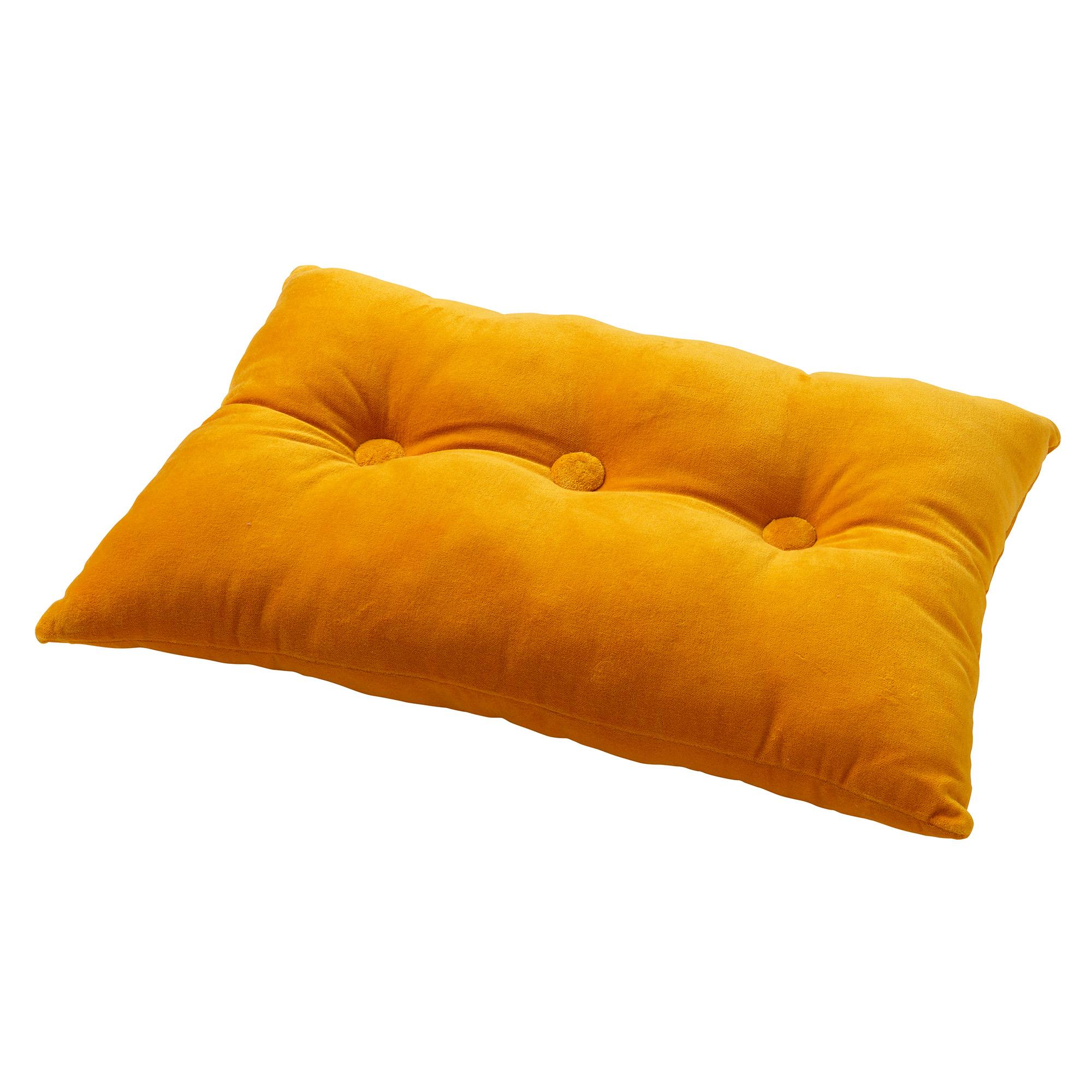 VALERIE - Sierkussen velvet Golden Glow 40x60 cm