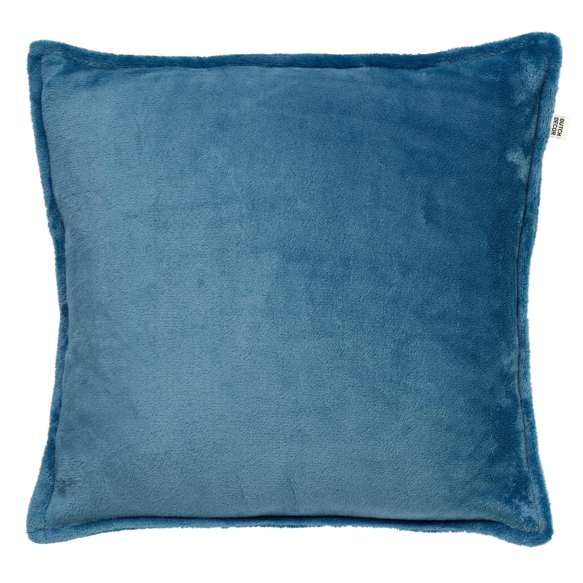 CILLY - Kussenhoes van fleece Provincial Blue 45x45 cm